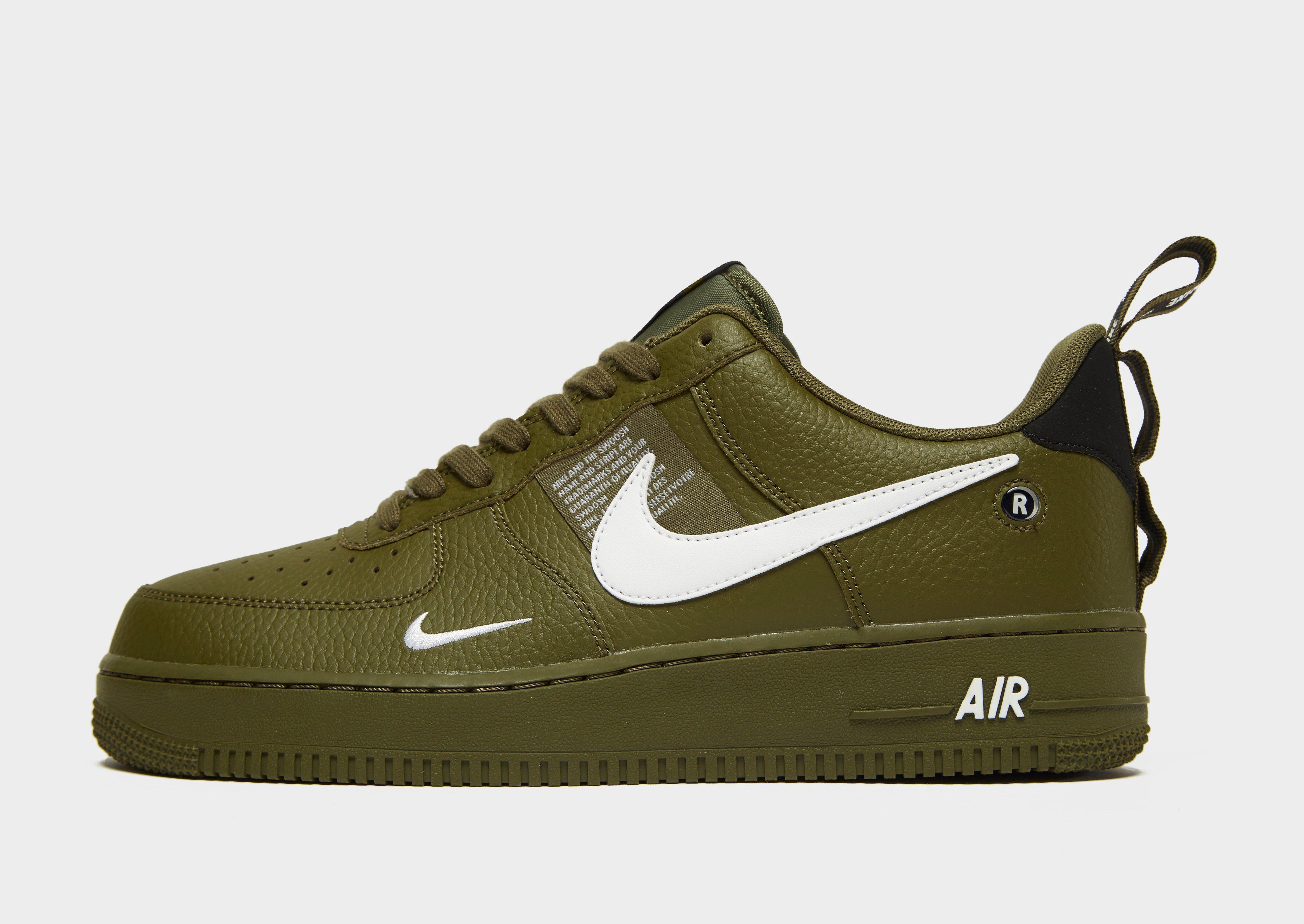 af462a4de0940 Lyst - Nike Air Force 1  07 Lv8 Utility Men s Shoe in Green for Men