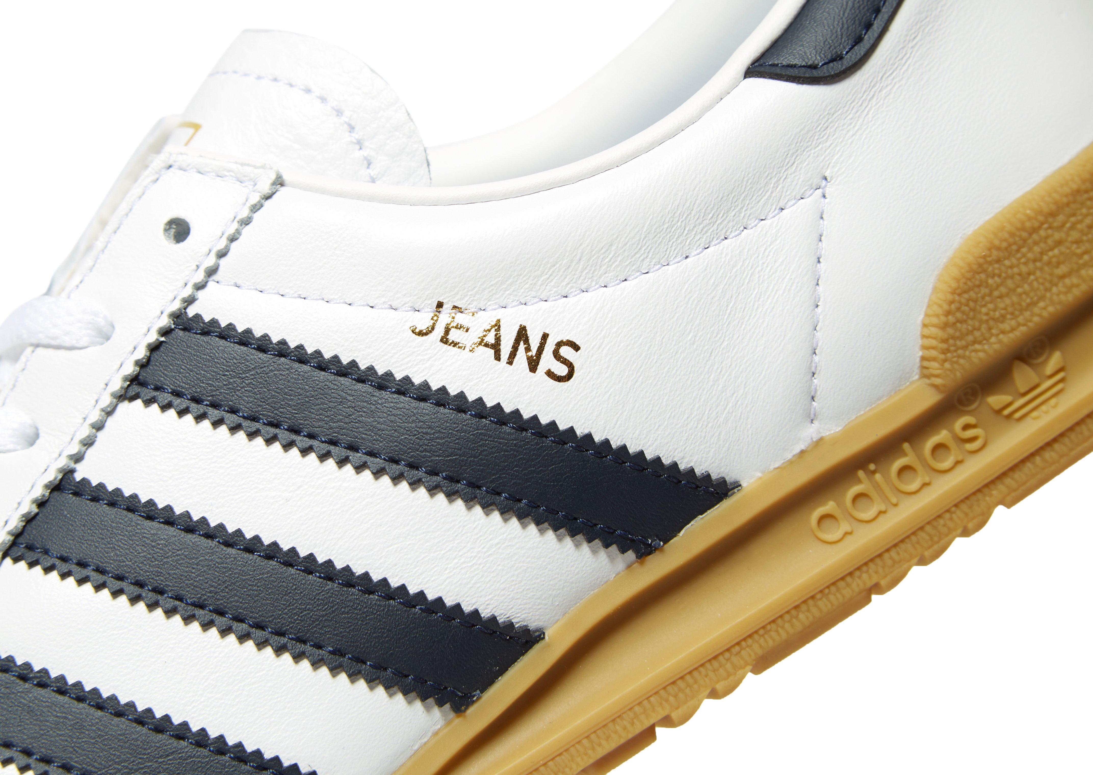 adidas originals jeans leather