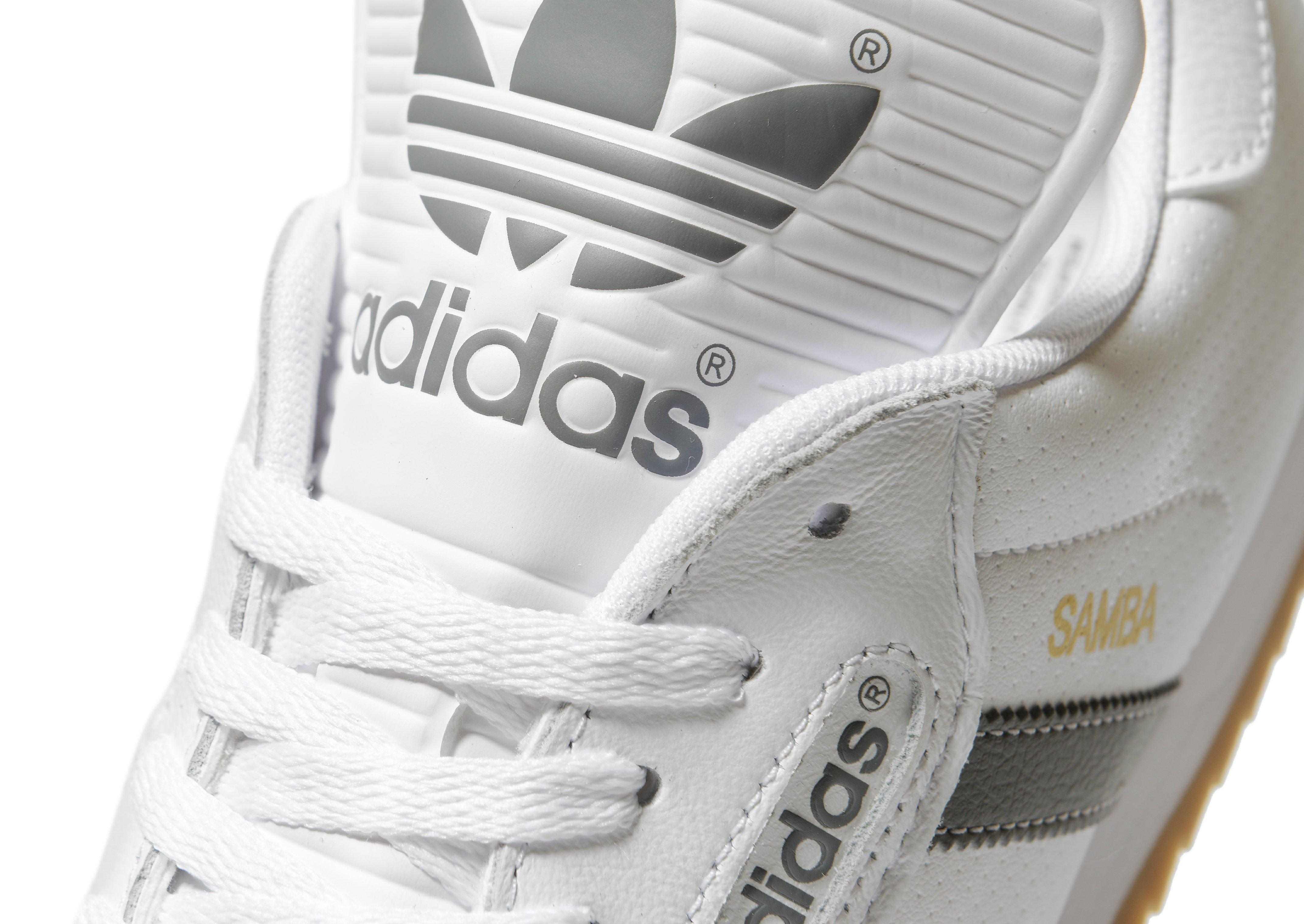 best price adidas originals samba super white af145 ef3c7