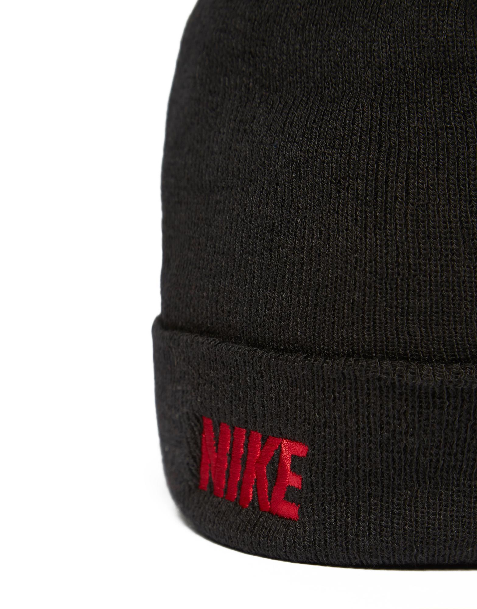 b1b6d416fc5 Nike Iconic Beanie Hat in Black for Men - Lyst