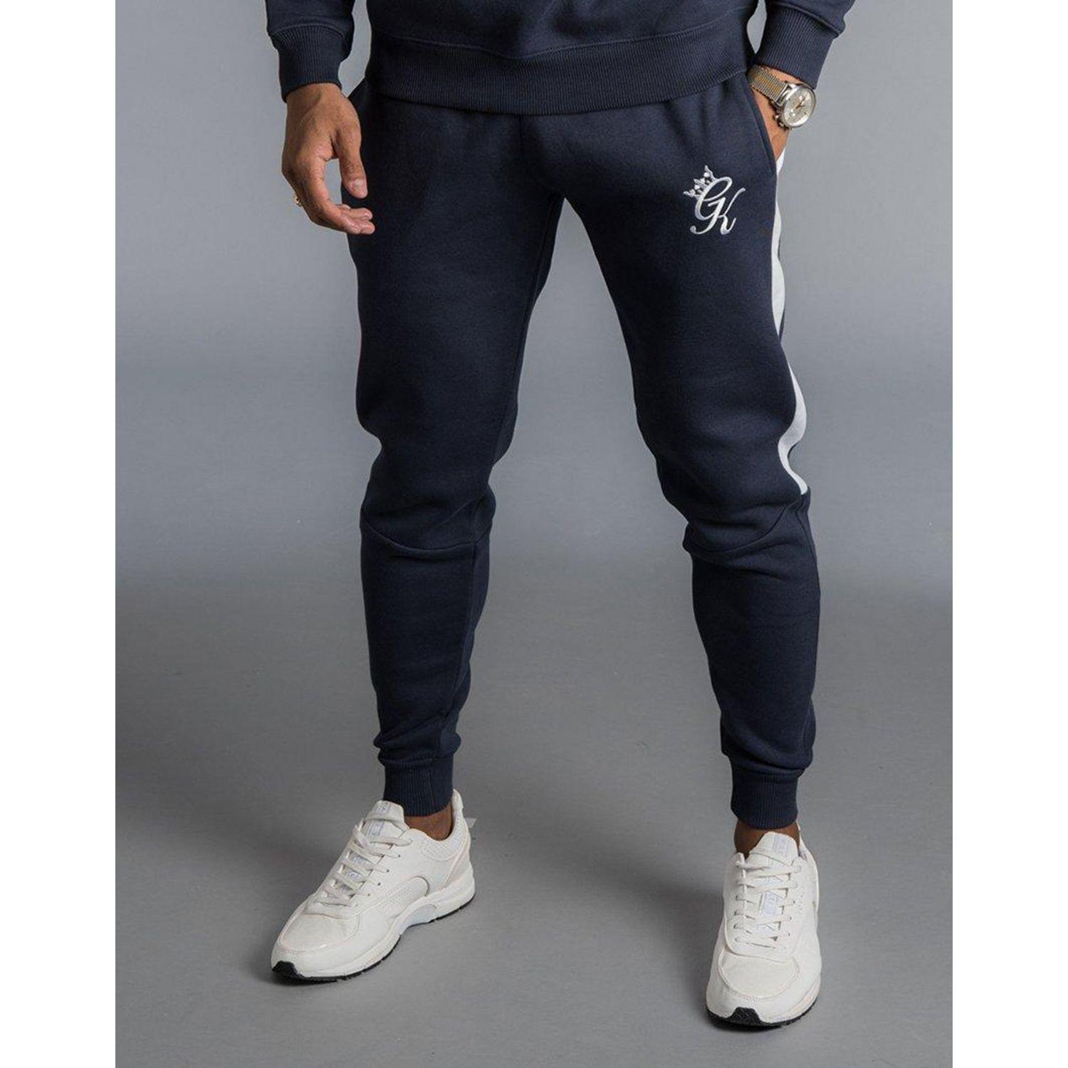 ef9161dd Lyst - Gym King Panel Joggers in Blue for Men