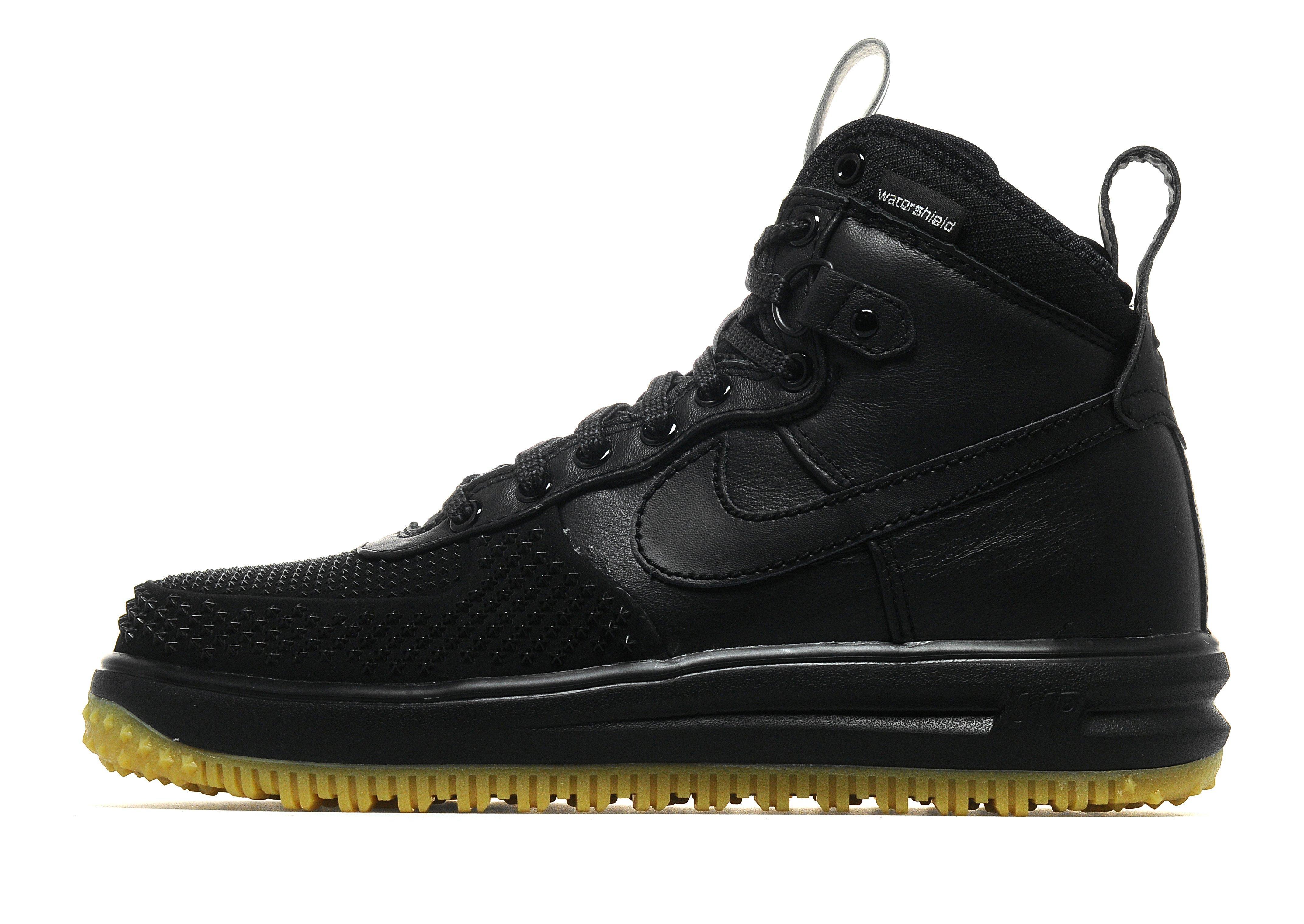 1d952ba615a26 Lyst - Nike Lunar Force 1 Duckboot in Black for Men