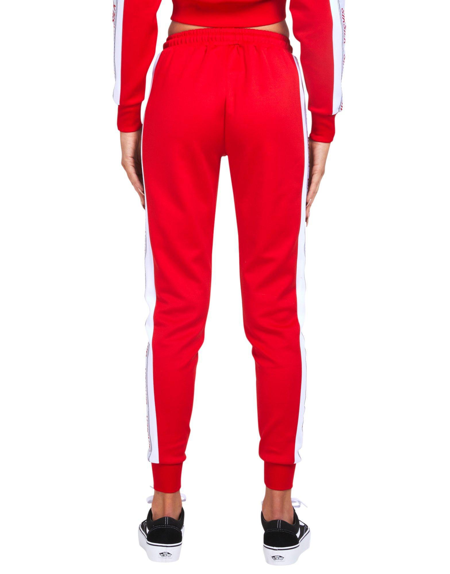 Lyst - SIKSILK Tape Poly Pants in Red 63e7112dbf108