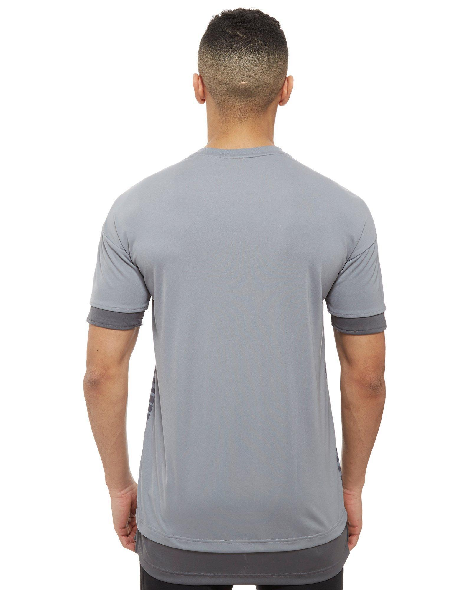 e04802316 Lyst - adidas Manchester United Fc 2018 Pre Match Shirt in Gray for Men