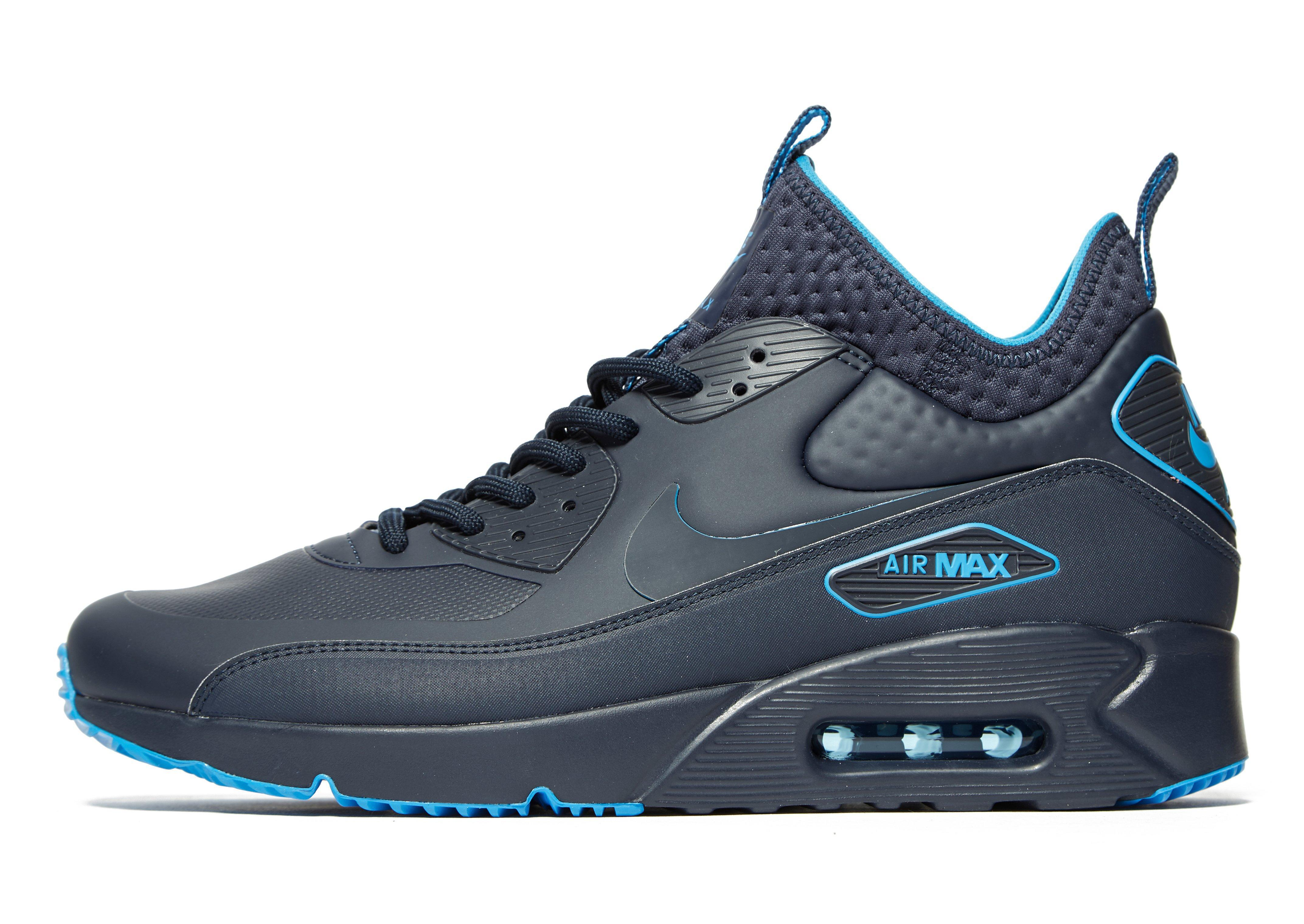 92ec5c81a10aa Lyst - Nike Air Max 90 Ultra Mid Winter Se in Blue for Men