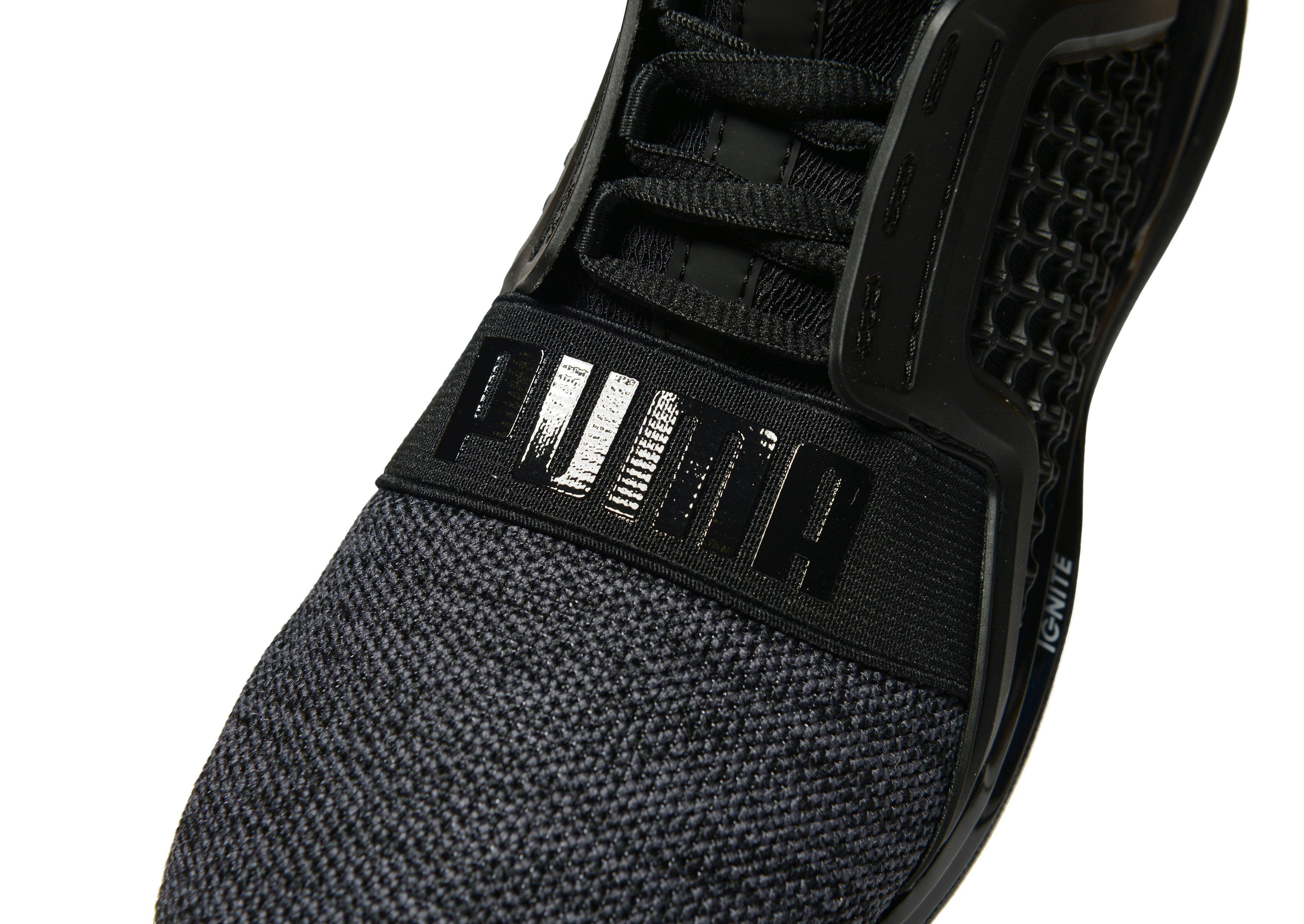 Lyst - PUMA Ignite Limitless Junior in Black for Men 987a98a78