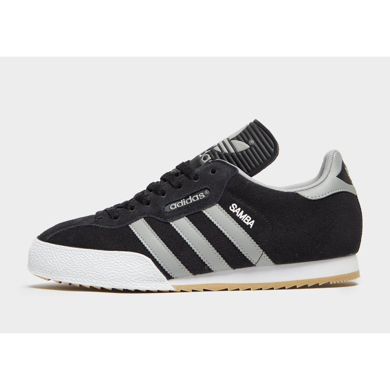 70feab9bd13f Lyst - adidas Originals Samba Super Trainers Black white gum in ...