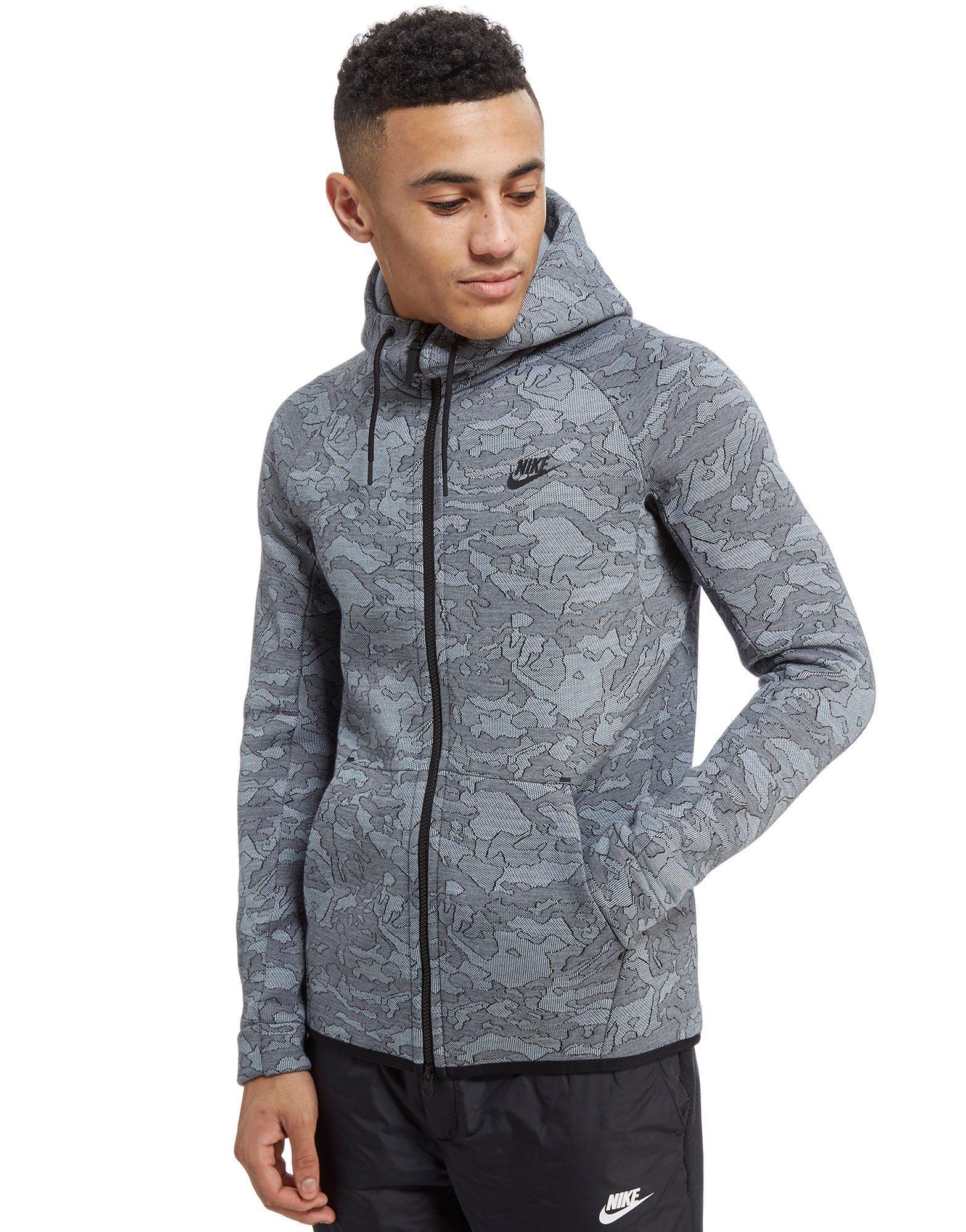 5ee380468a Lyst - Nike Tech Full Zip Windrunner Hoodie in Blue for Men