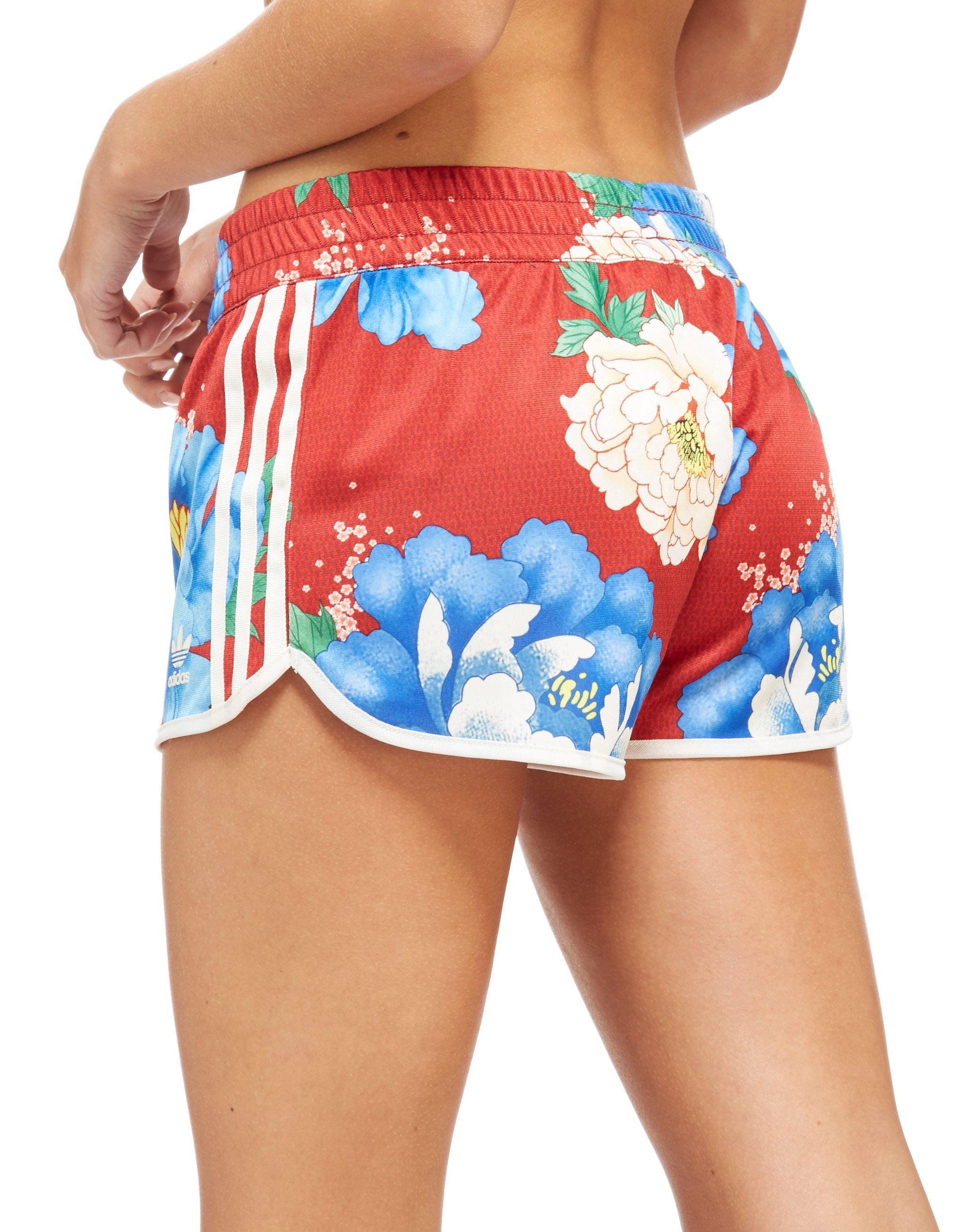 Originals Lyst Farm Red In Shorts Adidas BffqS