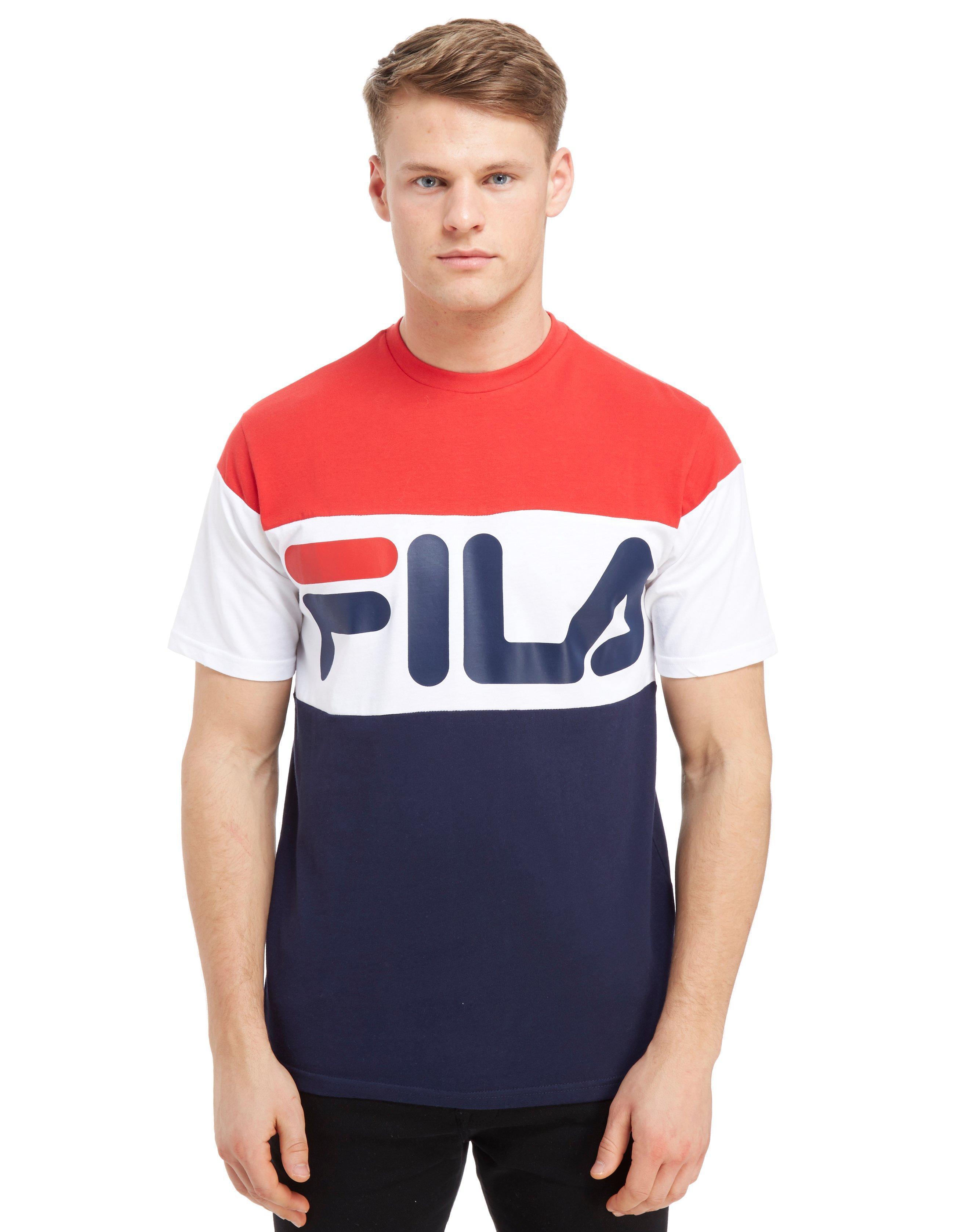 6993b434096 Fila Ewan 3 Pan T-shirt for Men - Lyst