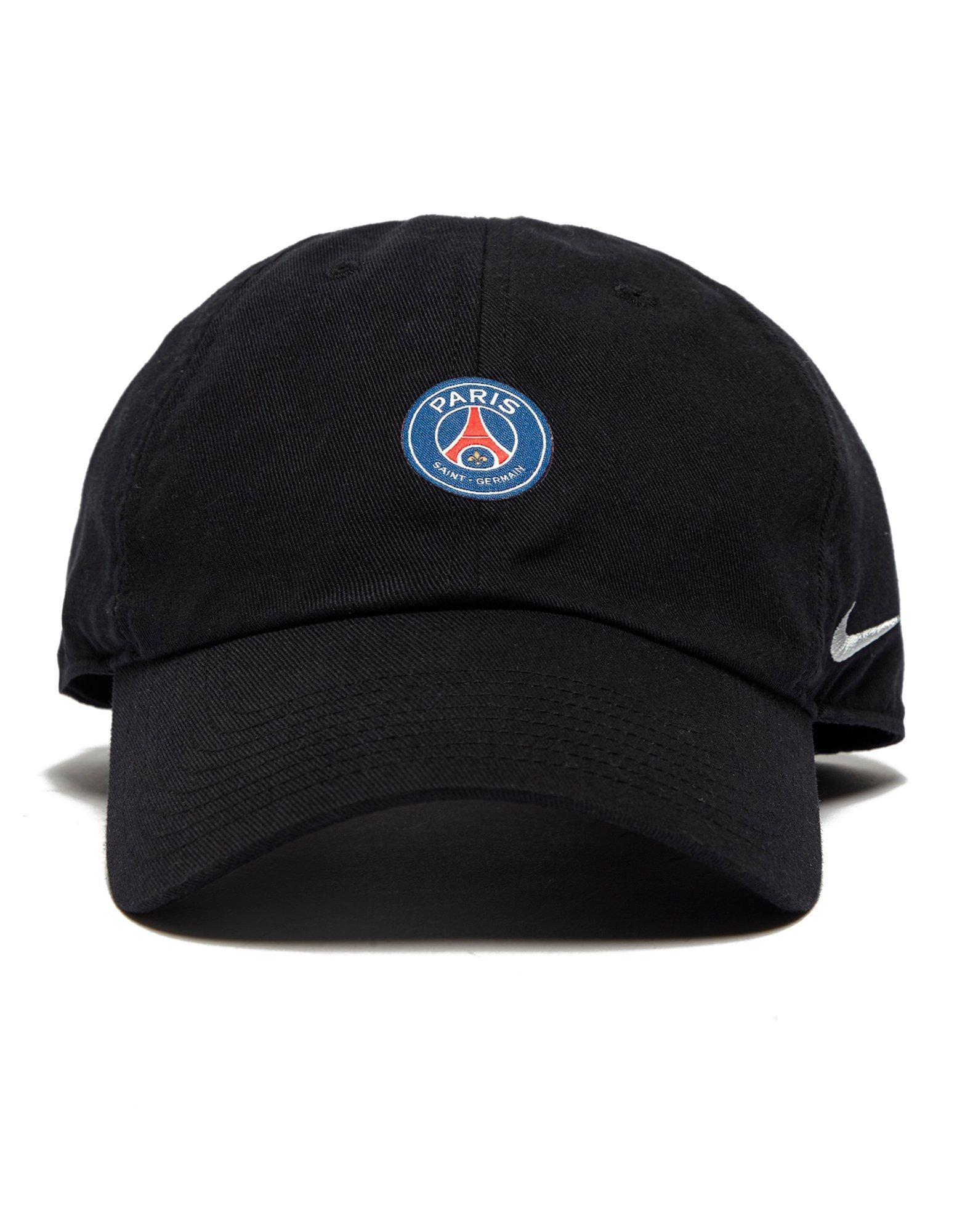 Lyst - Nike Paris Saint Germain H86 Cap in Black for Men 9be6f3a3f82
