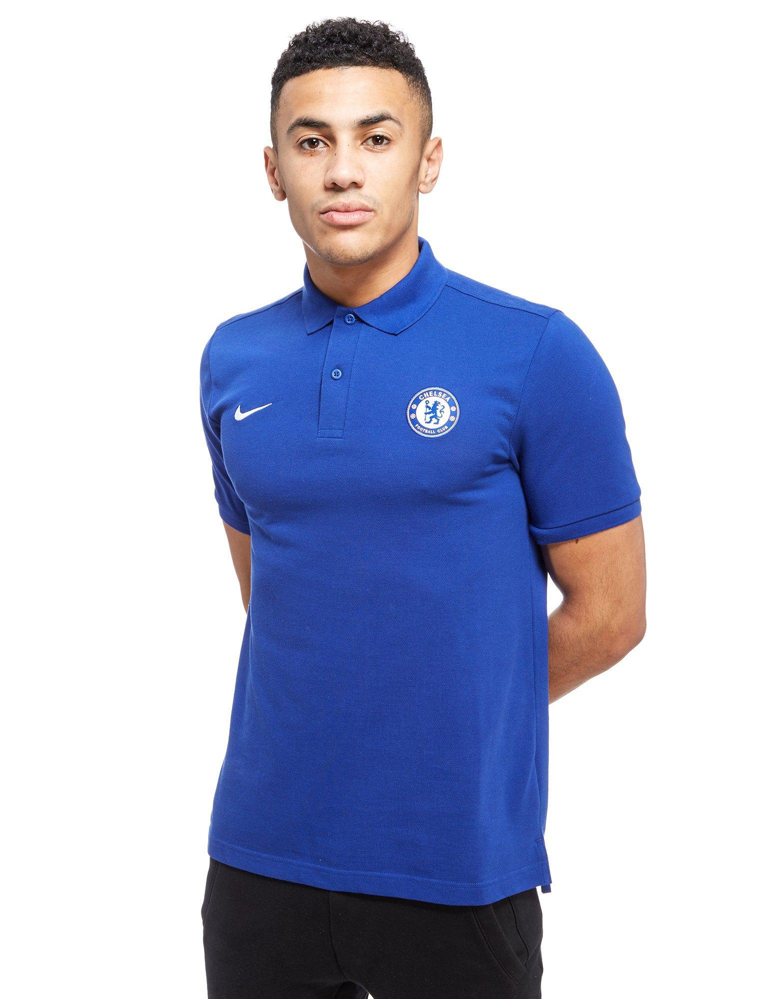b85eda962 Nike Chelsea Fc 2017 Core Polo Shirt in Blue for Men - Lyst