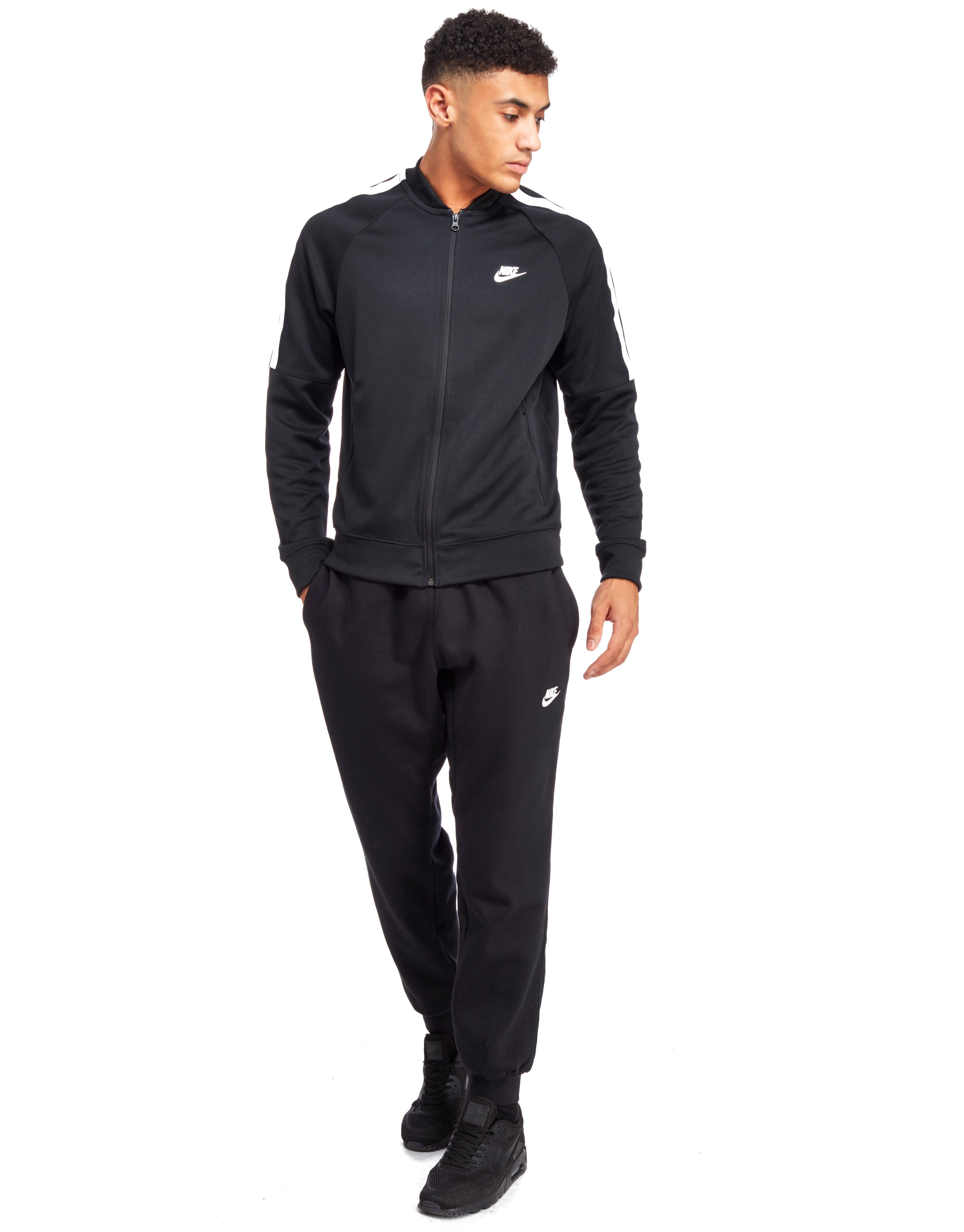 Nike Tribute B-ball Poly Track Top in Black for Men - Lyst ddfc4243f