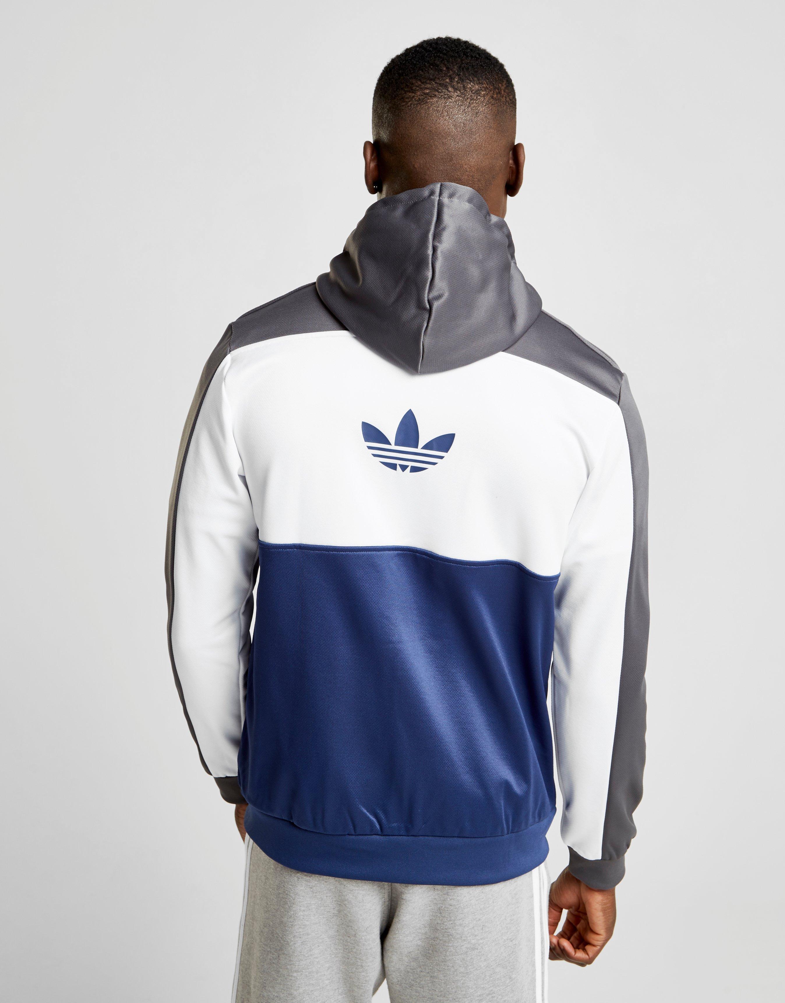adidas ID96 SL Kapuzenjacke Weiß Herren Bekleidung Jacken