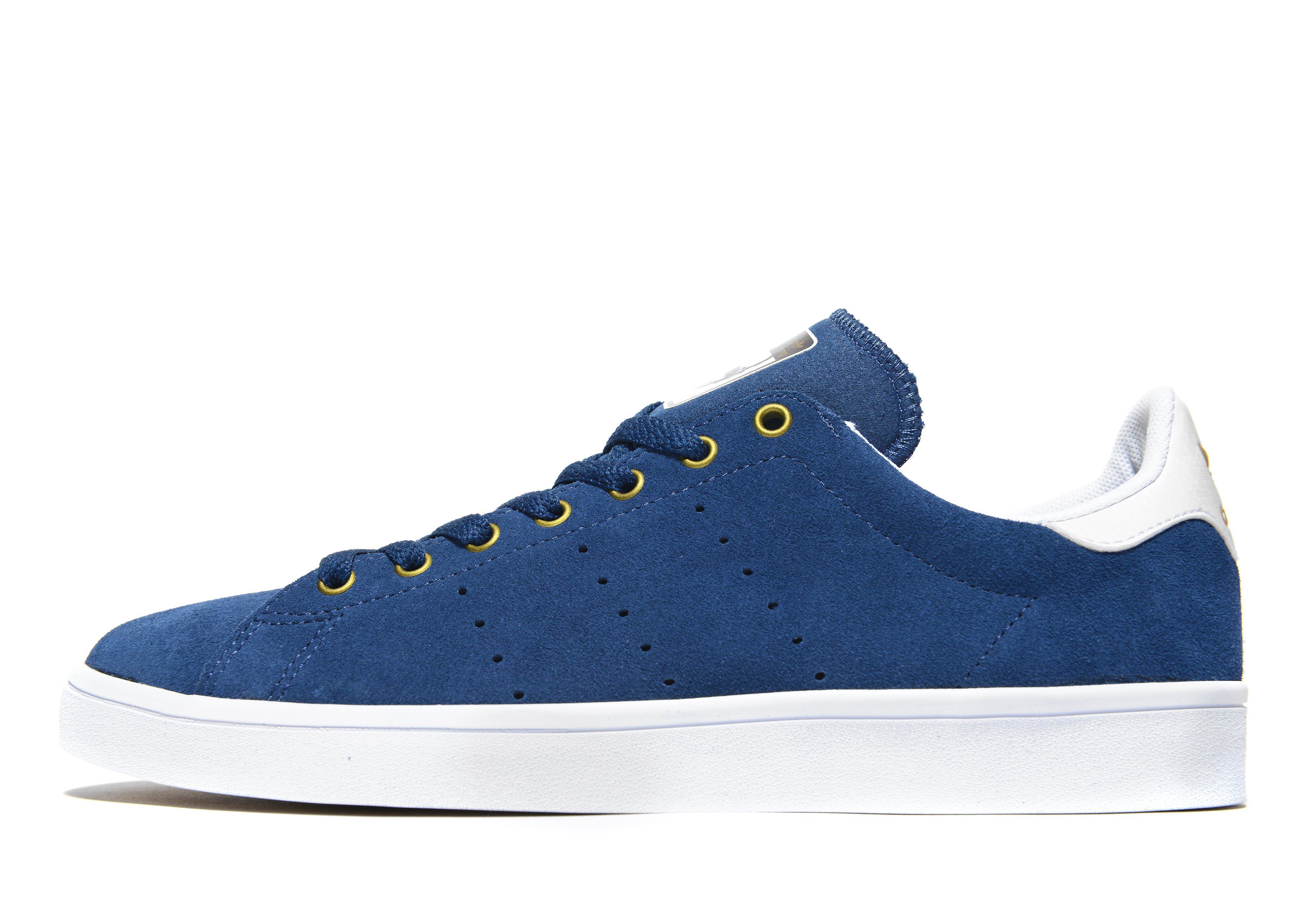 Adidas Originals Stan Smith Vulc in Blue for Men - Lyst dc7c8b3a7