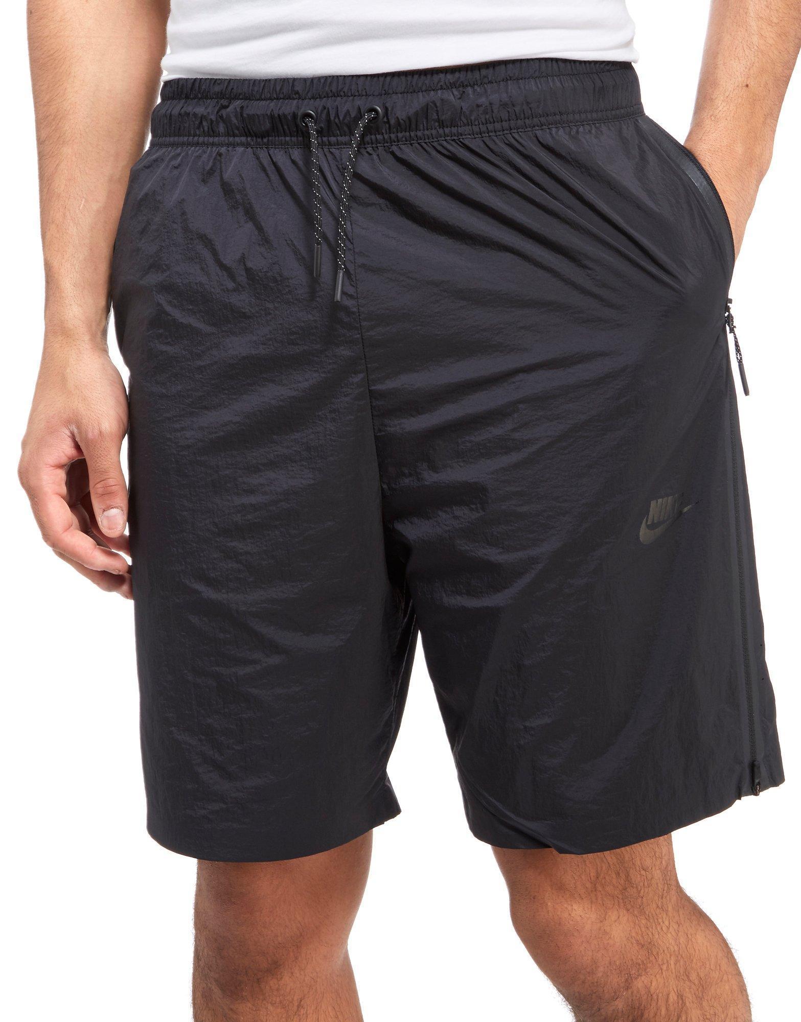 Lyst - Nike Sportswear Tech Hypermesh Shorts in Black for Men