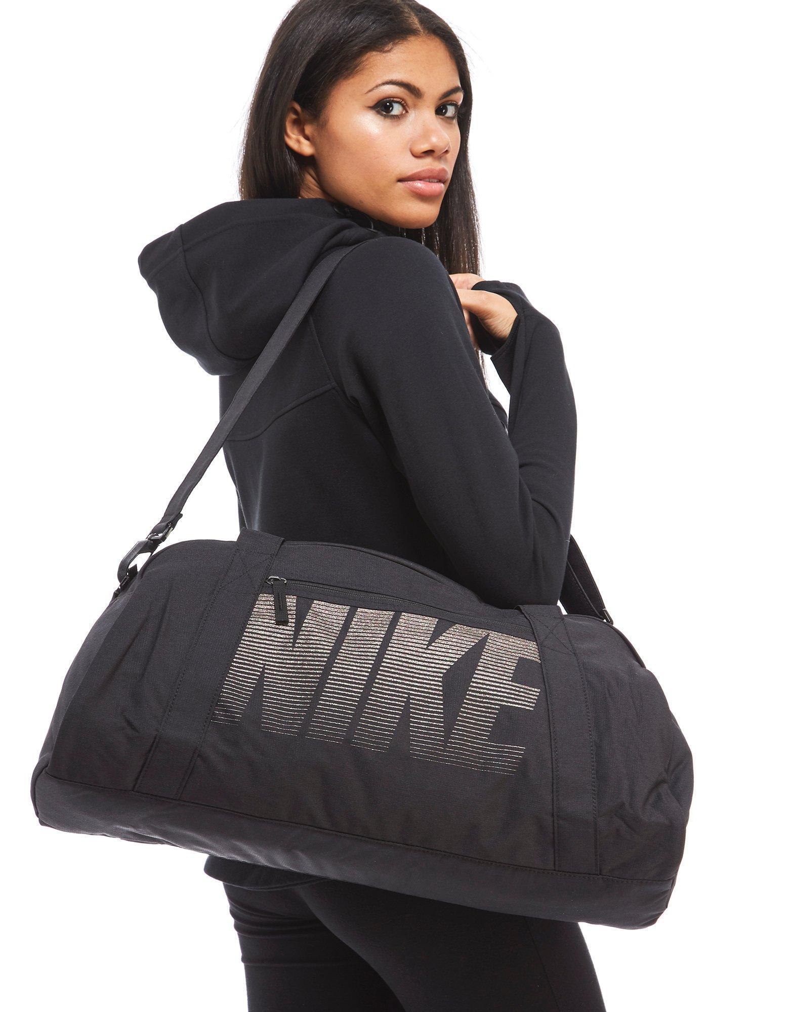 Lyst - Nike Gym Club Training Duffle Bag in Black for Men f23261d2d2e3
