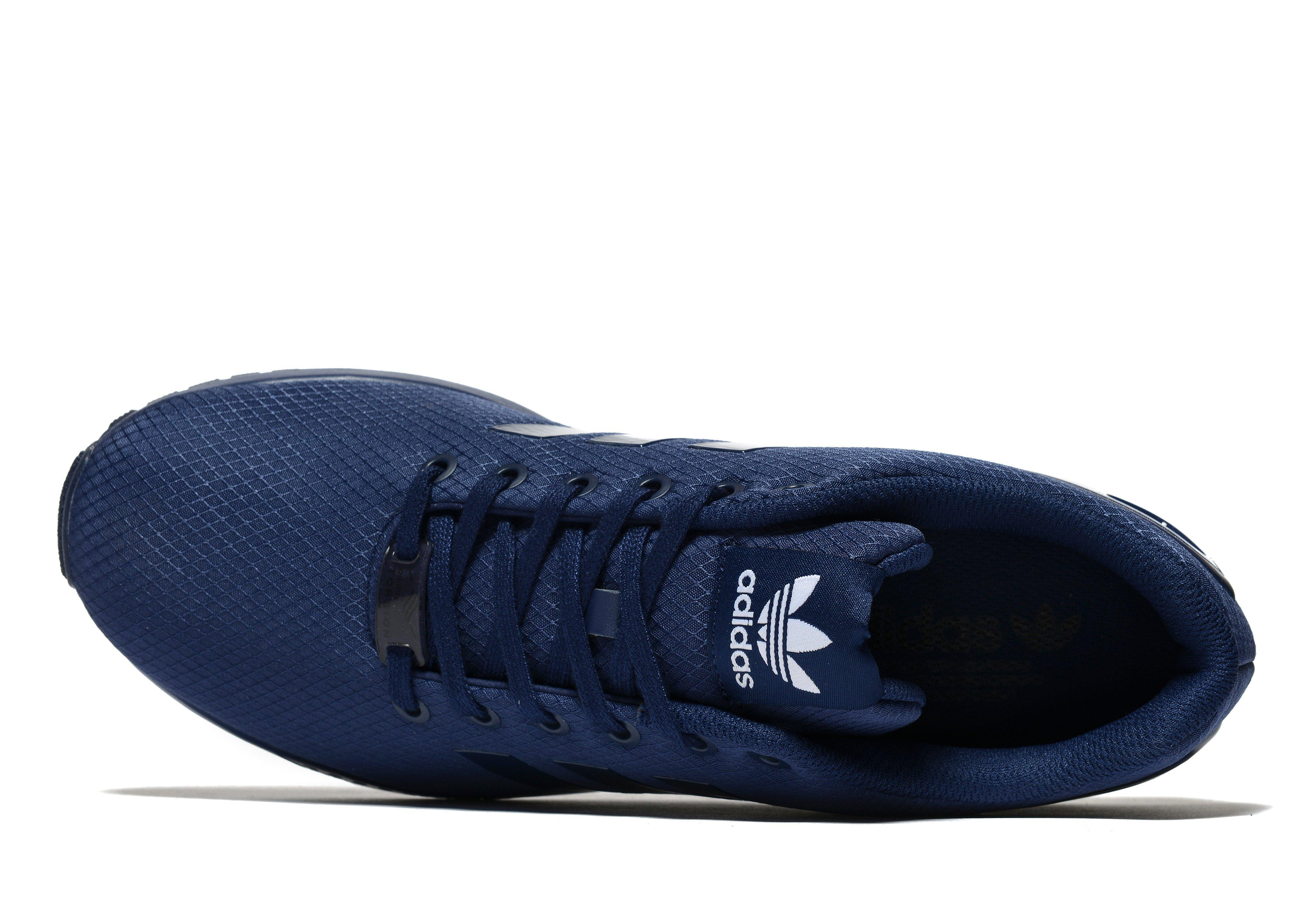 factory authentic f0692 173dc ... lyst adidas originals zx flux ripstop in blue for men