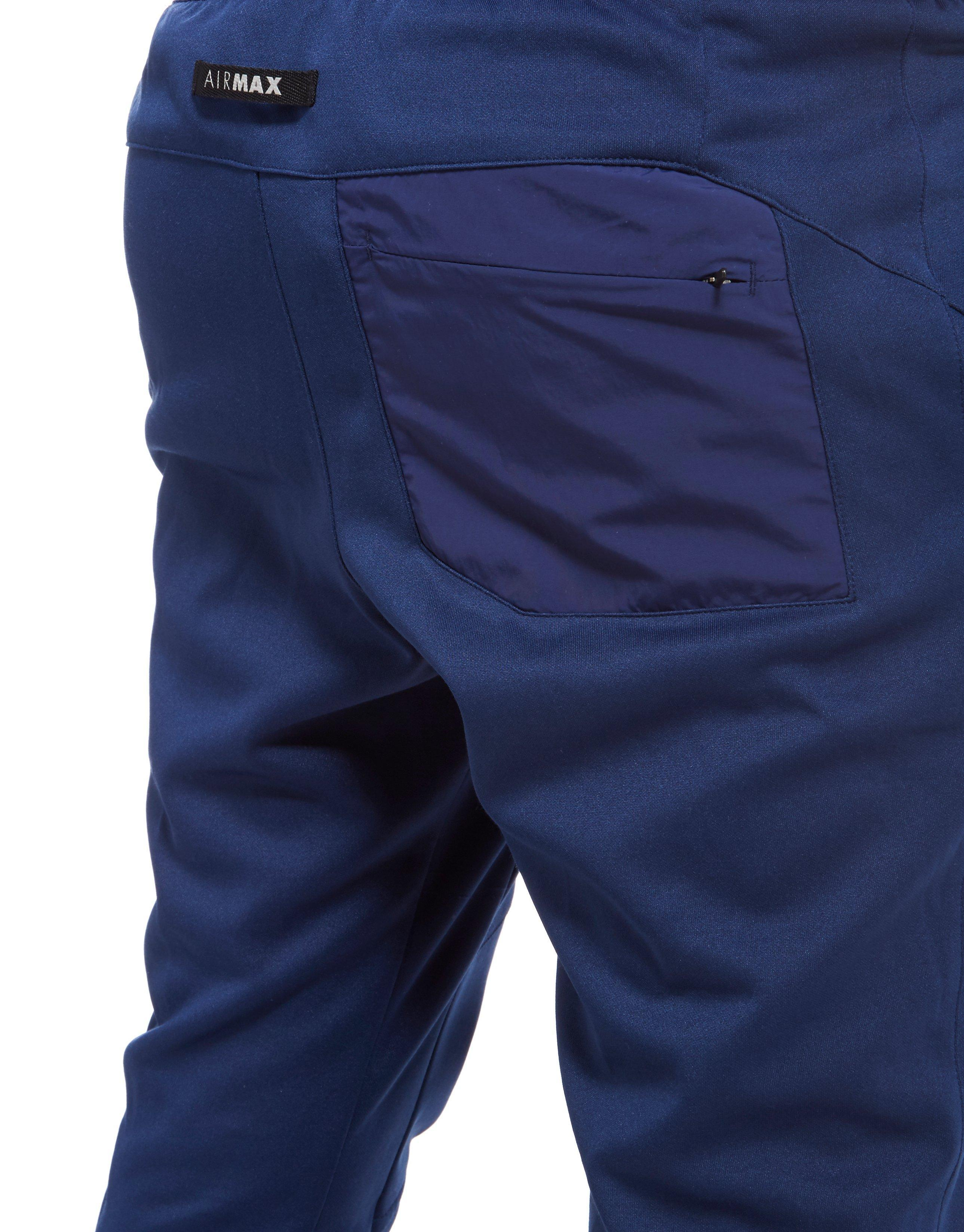 480a3f6c4ab3 Lyst - Nike Air Max Poly Track Pants in Blue for Men