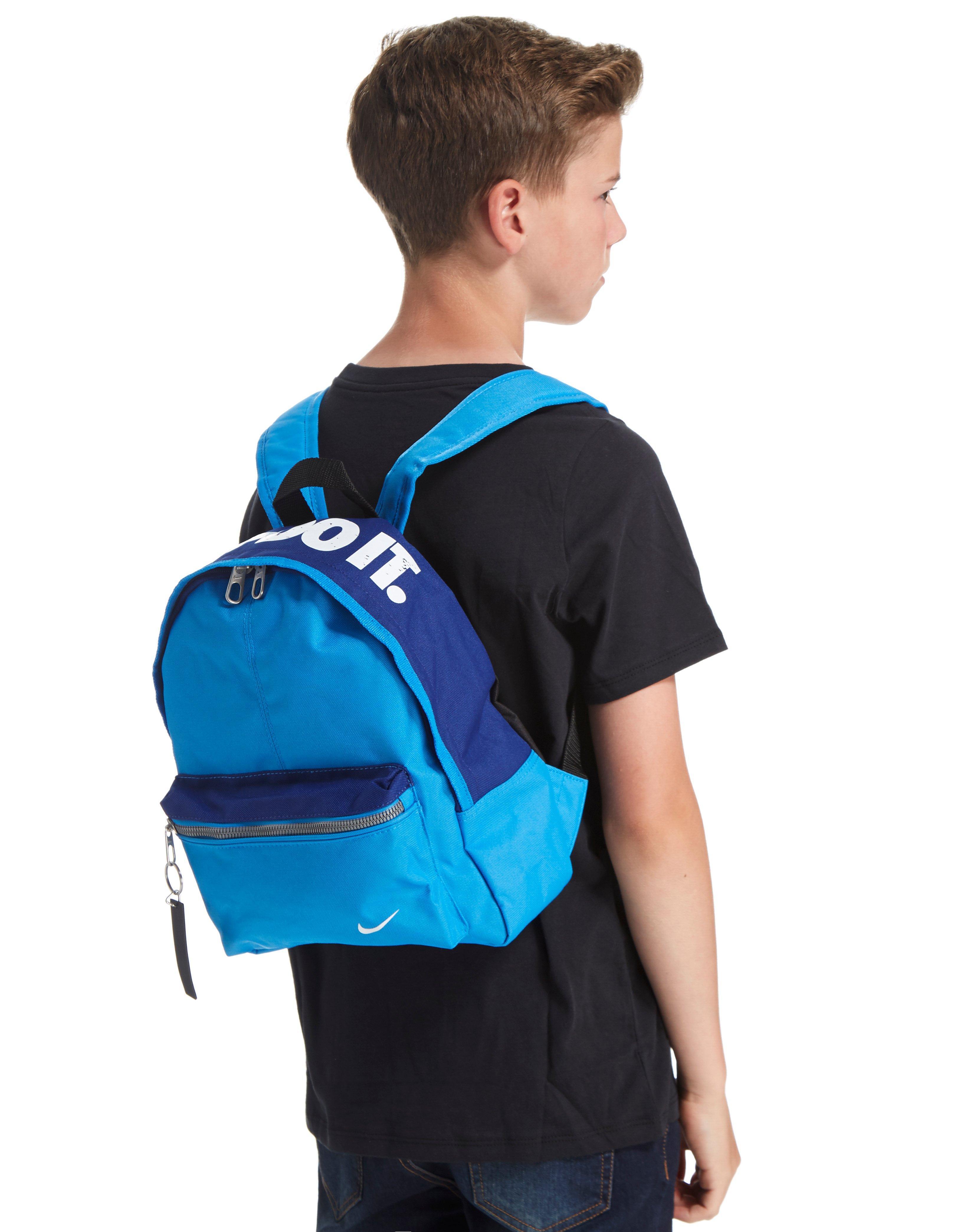 5ce61b9031 Lyst - Nike Ya Just Do It Mini Backpack in Blue for Men