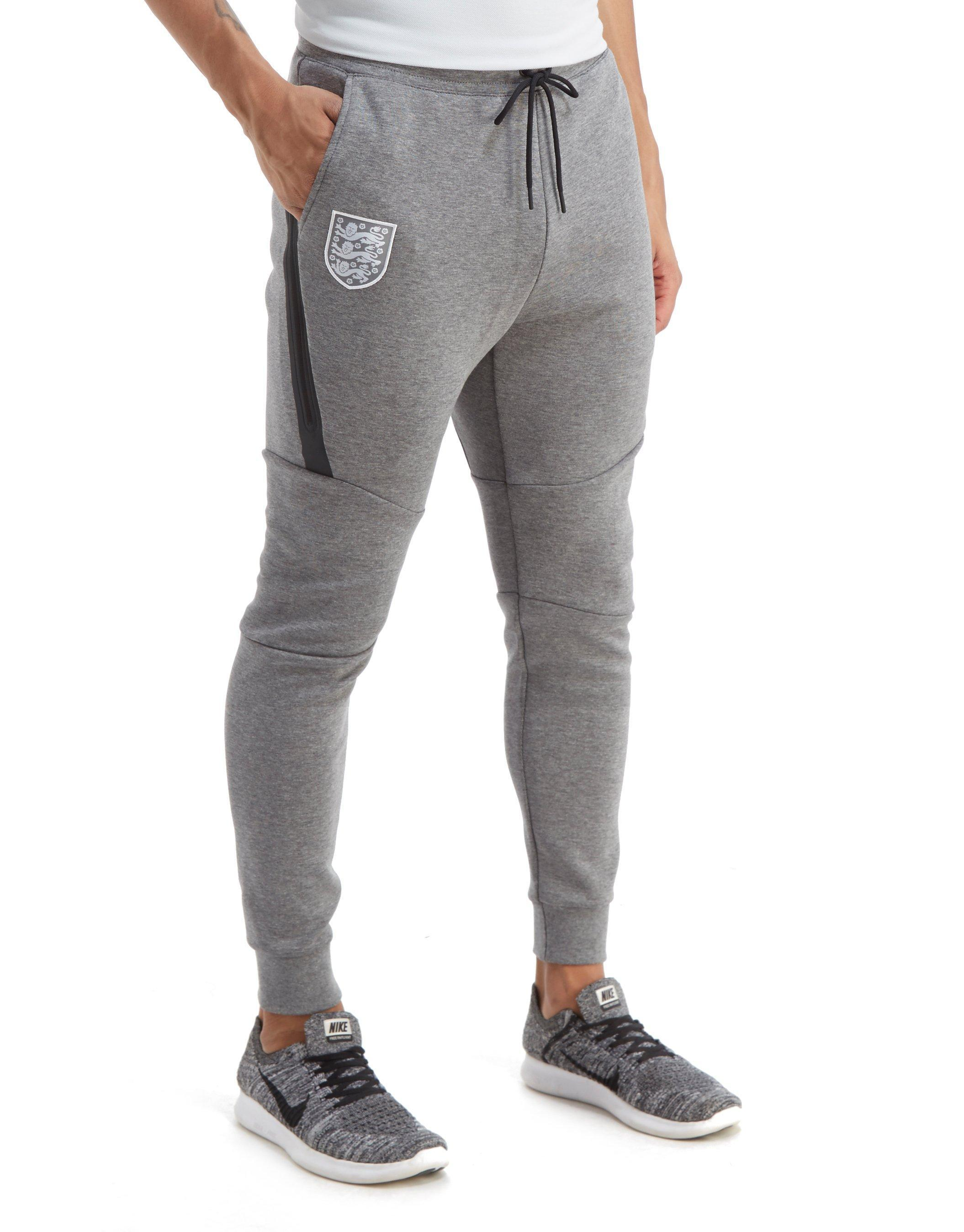 d7360ebed4e Nike England Tech Fleece Pants in Gray for Men - Lyst