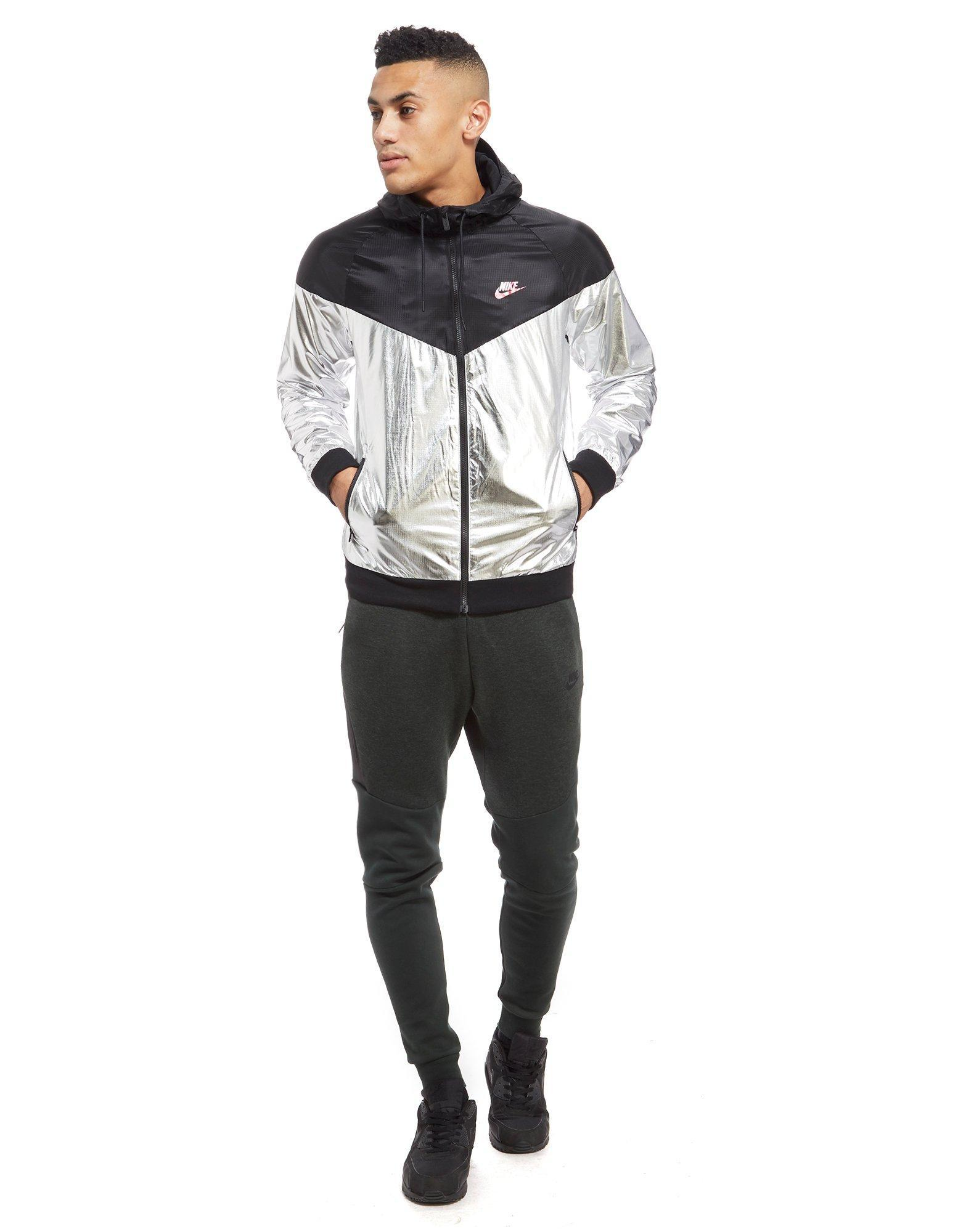 Lyst Nike Foil Jacket In Black For Men