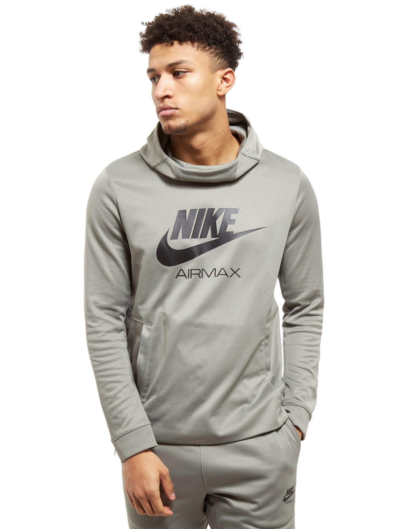 71399d8afb2c Lyst - Nike Air Max Poly Hoodie in Gray for Men