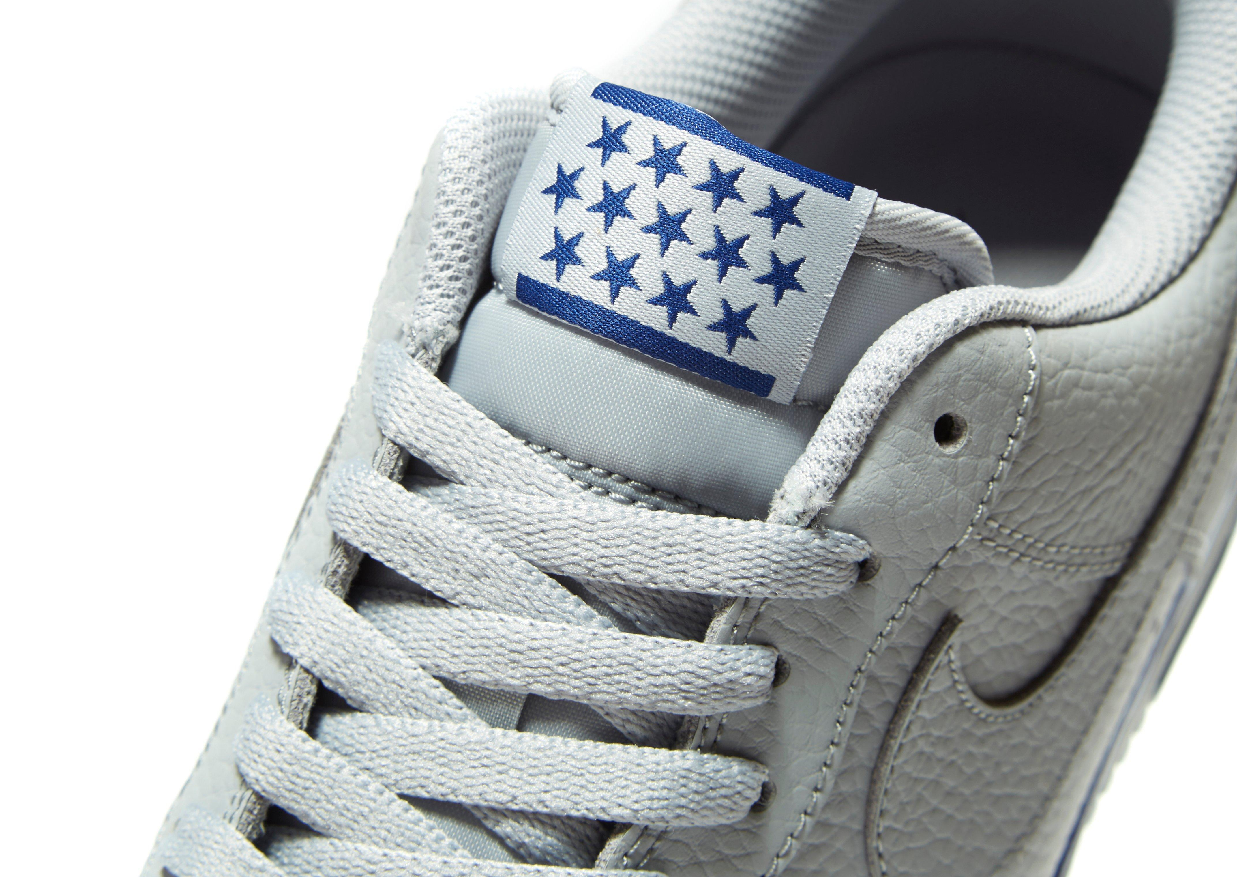 newest 9bf73 8a60e ... coupon for nike air force 1 low black blue jd sports on feet images of  034d8