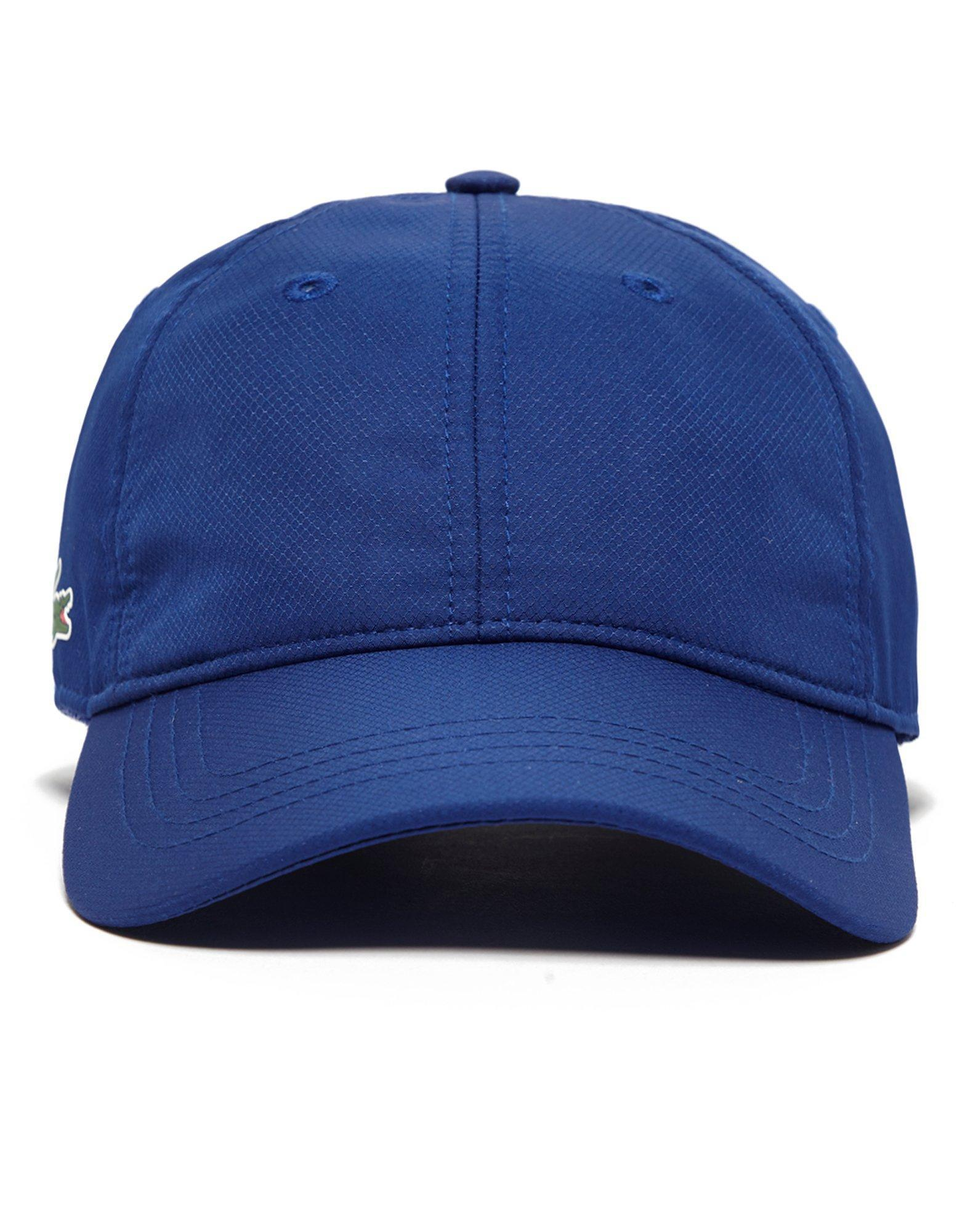 d61ae160408 Lyst - Lacoste Poly Cap in Blue for Men