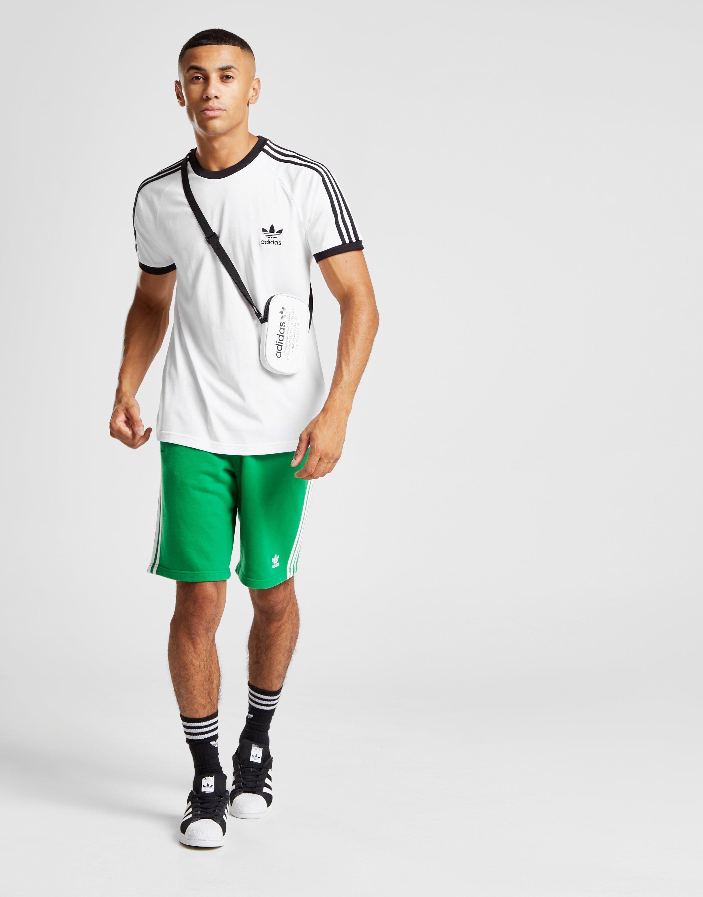 b7b9dd66210 Lyst - Adidas Originals 3-stripes California Short Sleeve T-shirt in ...