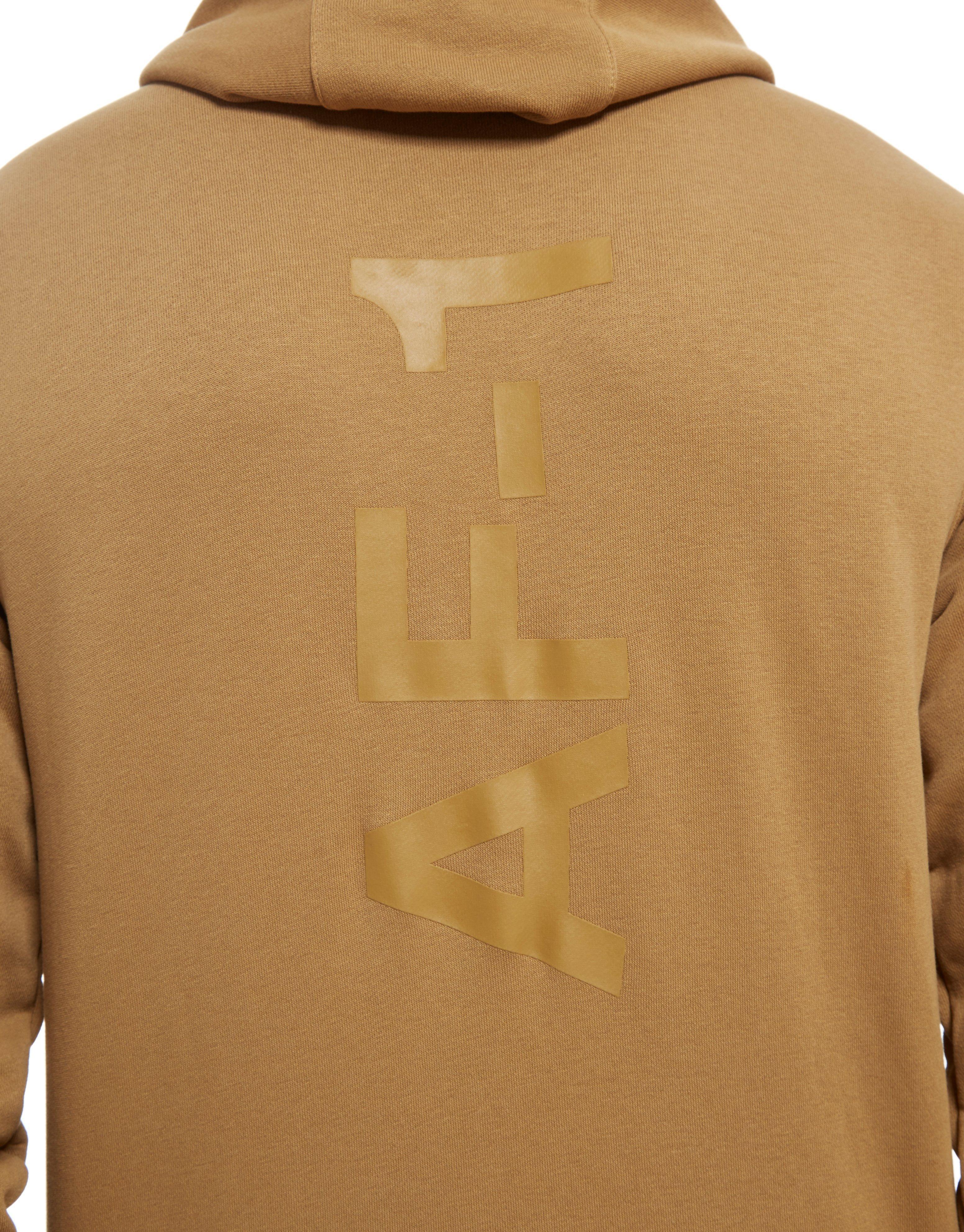 113911a2aef2 Lyst - Nike Air Force 1 Full Zip Hoodie in Brown for Men