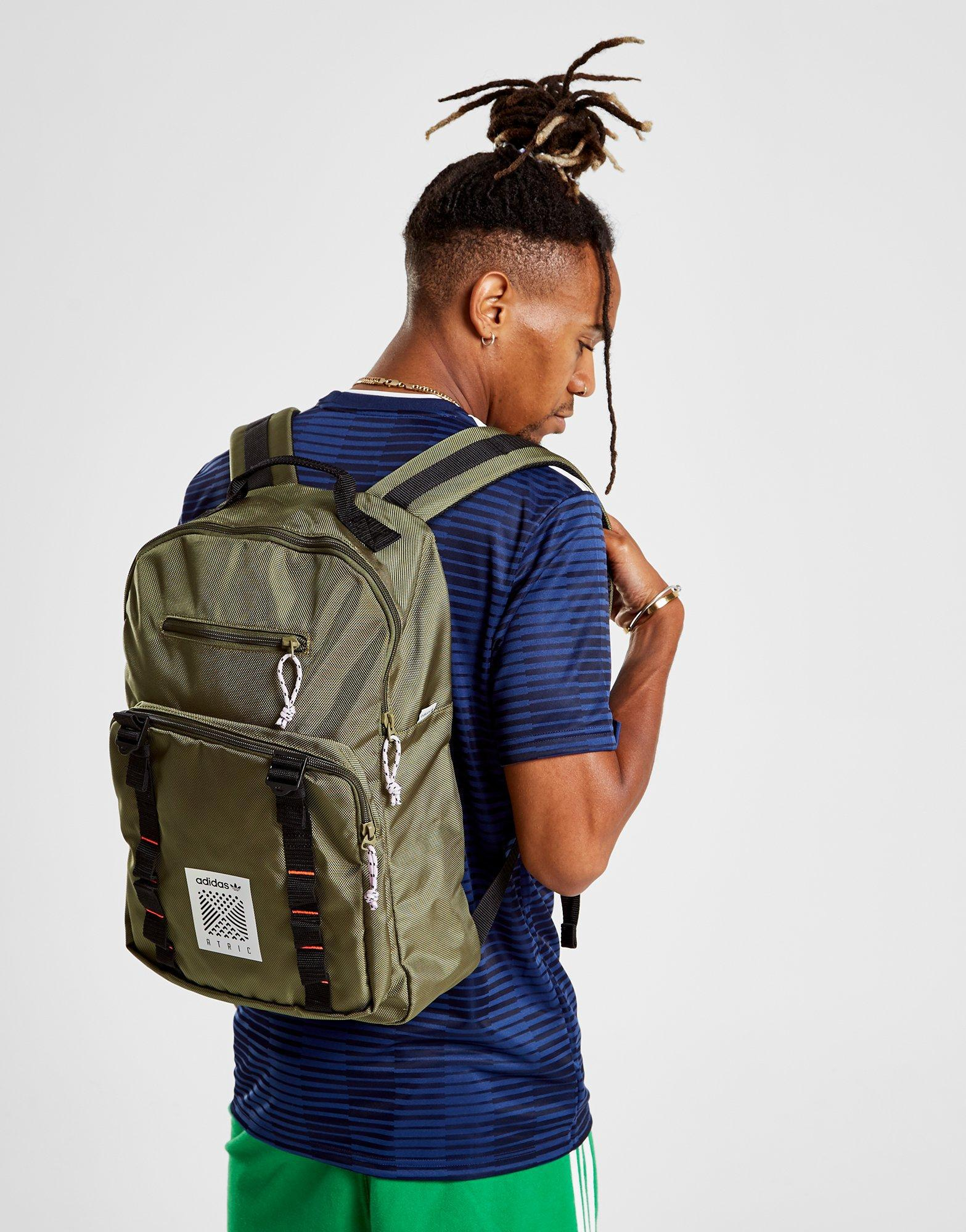 adidas Originals Classic Atric Backpack in Green for Men - Lyst c7bfab3c6a194