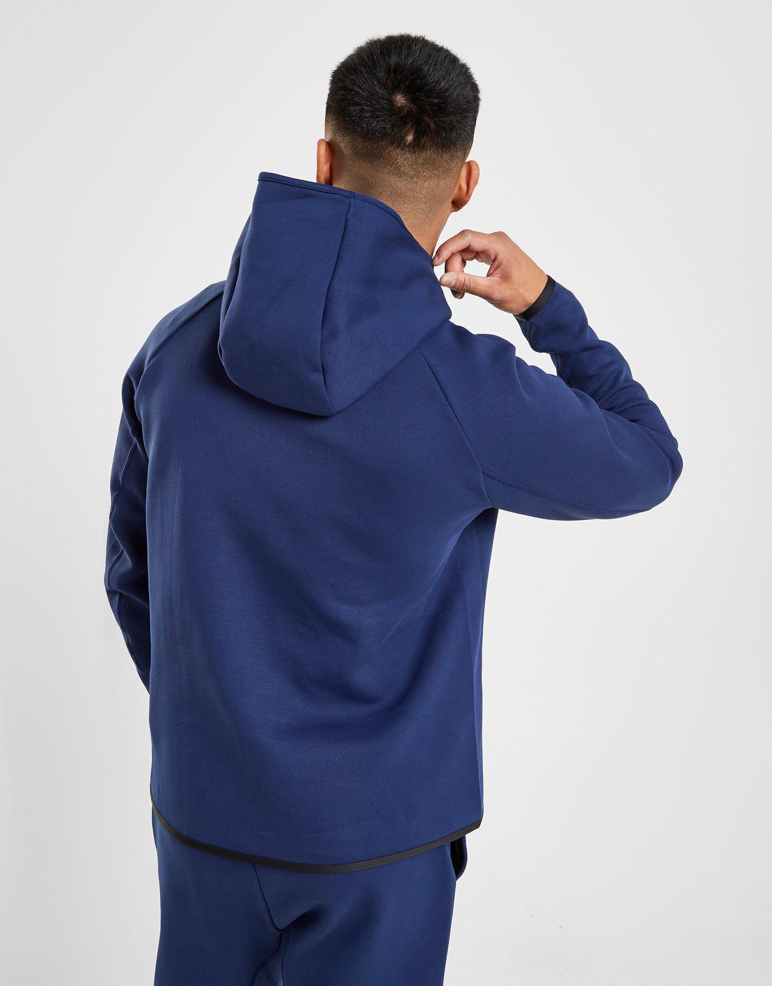 a08025fce1 Lyst - Nike Sportswear Tottenham Hotspur Fc Tech Fleece Hoodie in Blue for  Men