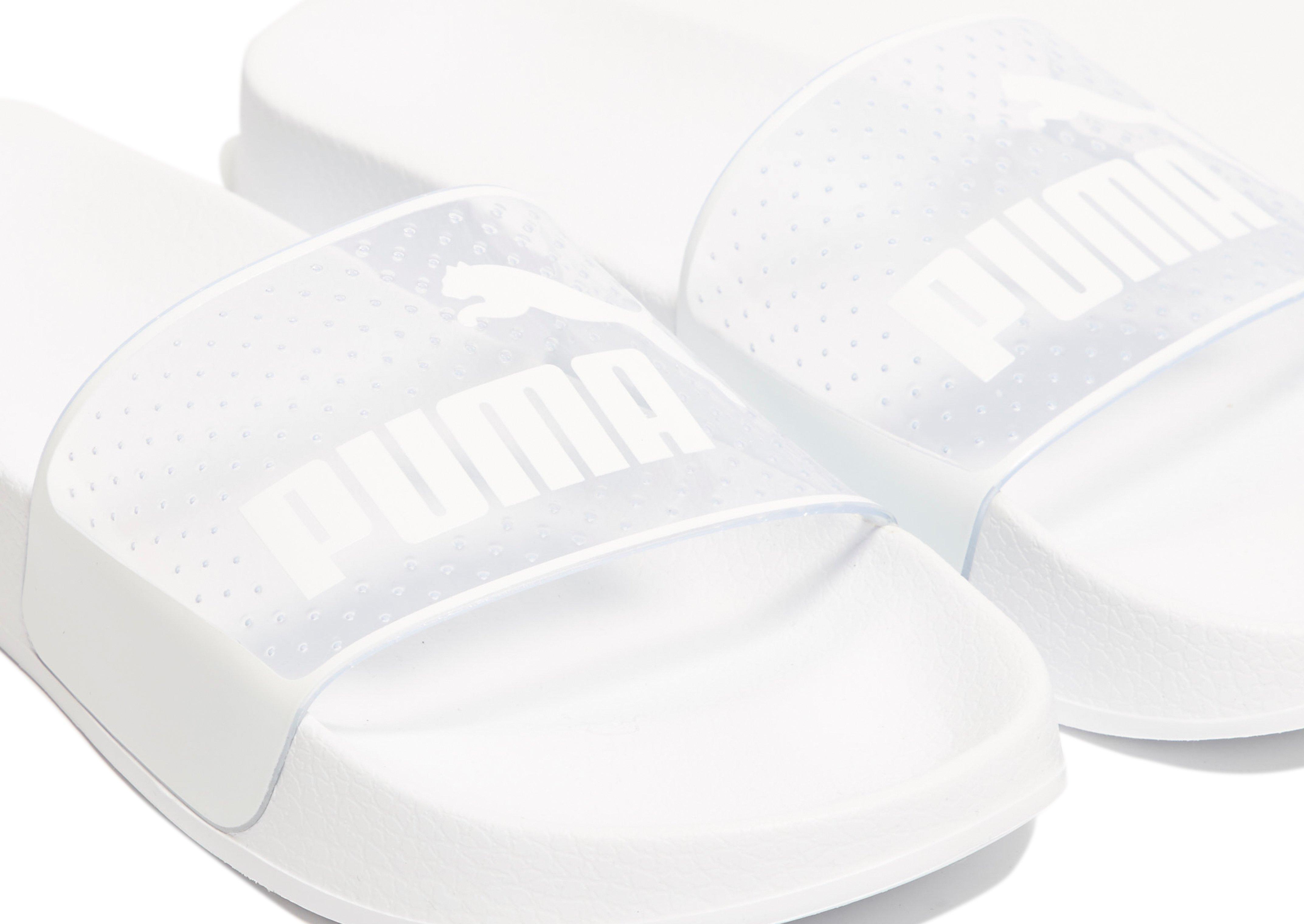 Lyst - PUMA Leadcat Jelly Slides in White 87b1325c8
