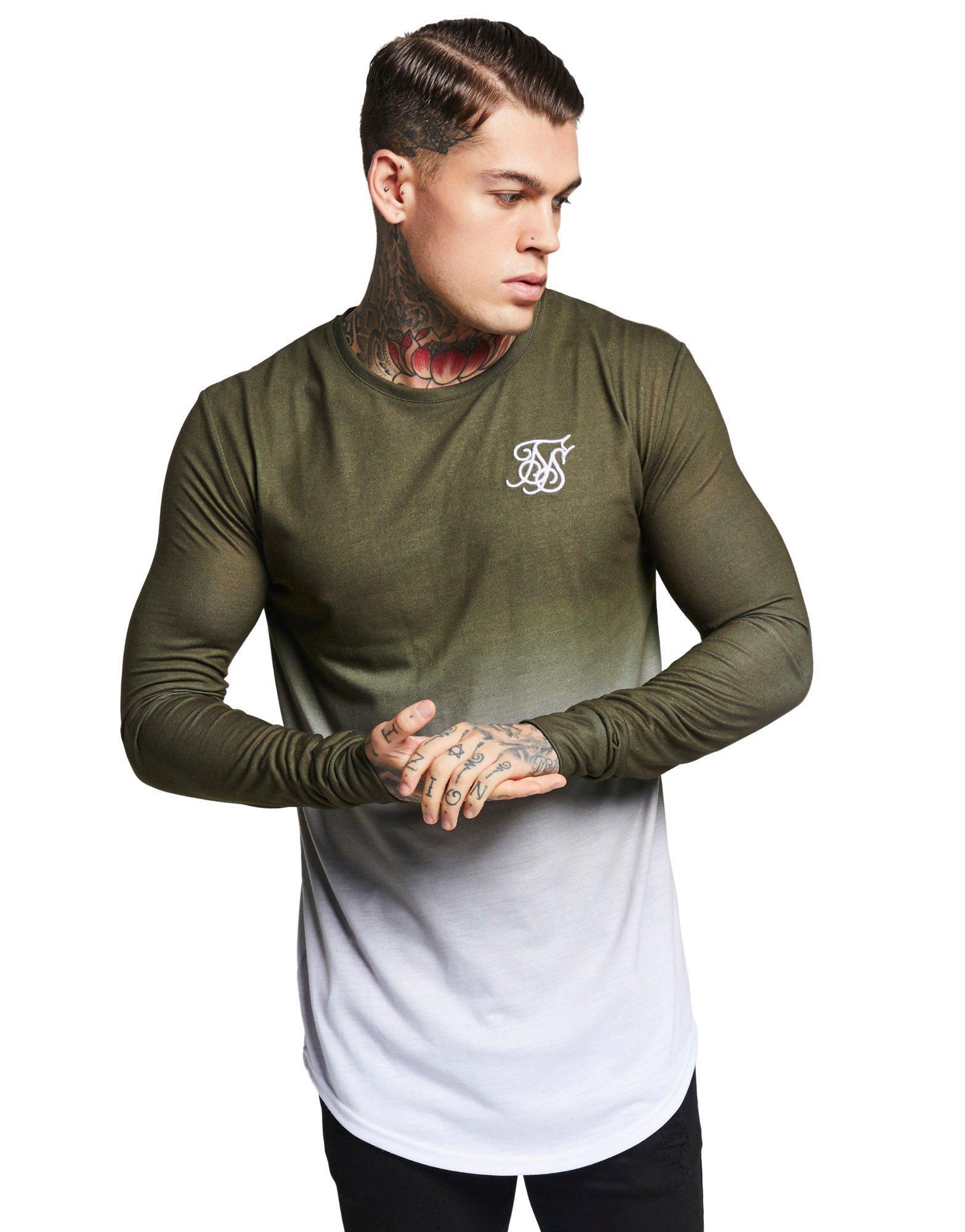 Vole La Lumiere Mens T-Shirt Vest Sik Designer Tape Gym Top Silk Shark Gold King