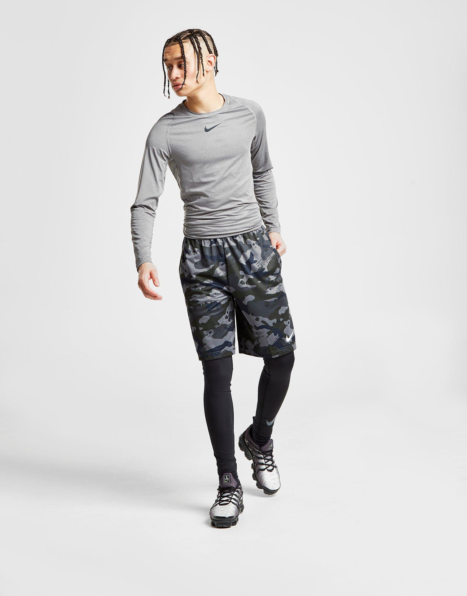 ae666e0130502 Lyst - Nike Pro Therma Tights in Black for Men