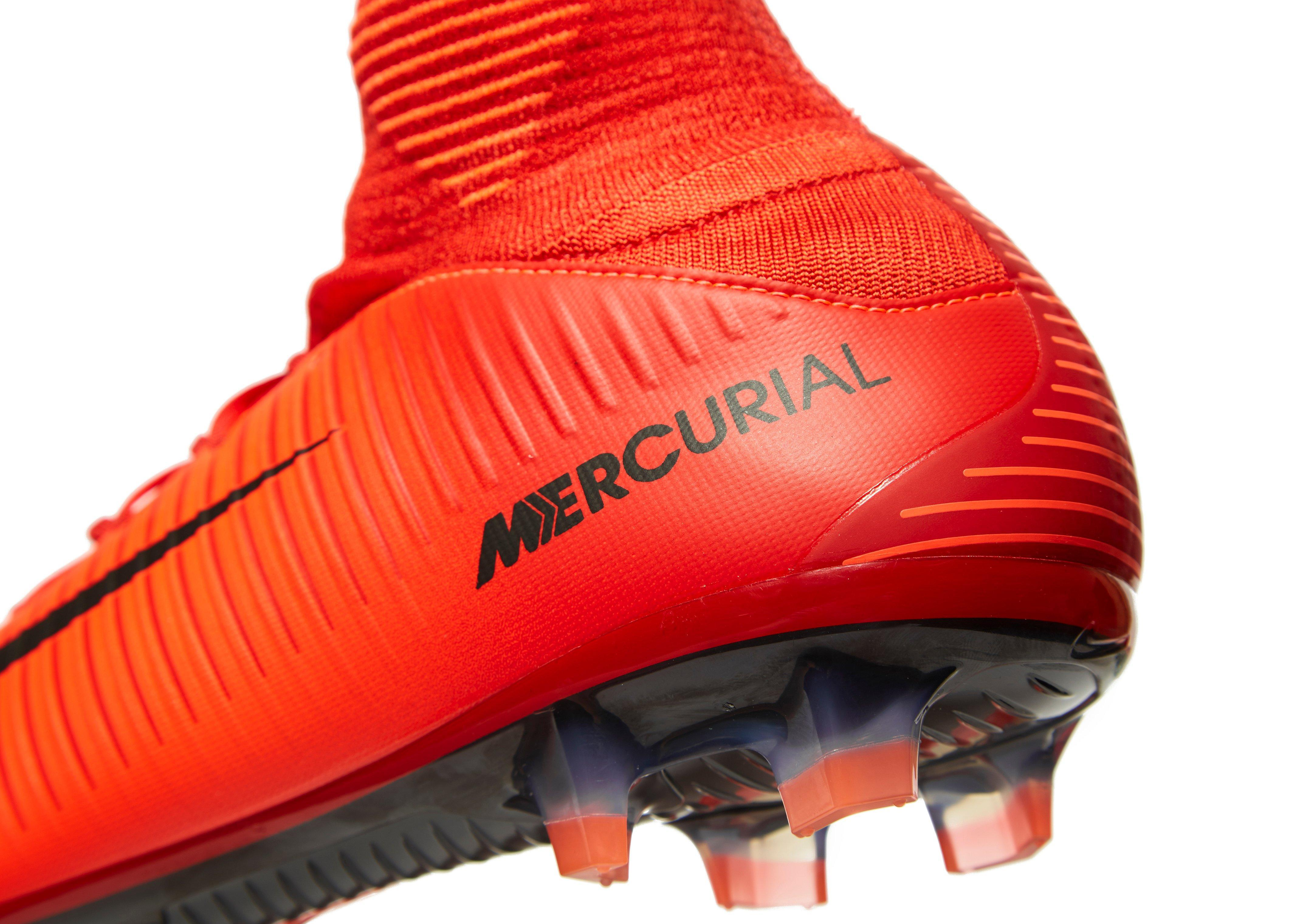 big sale e2552 167b3 Nike Fire And Ice Mercurial Veloce Dynamic Fit Fg in Red for Men - Lyst