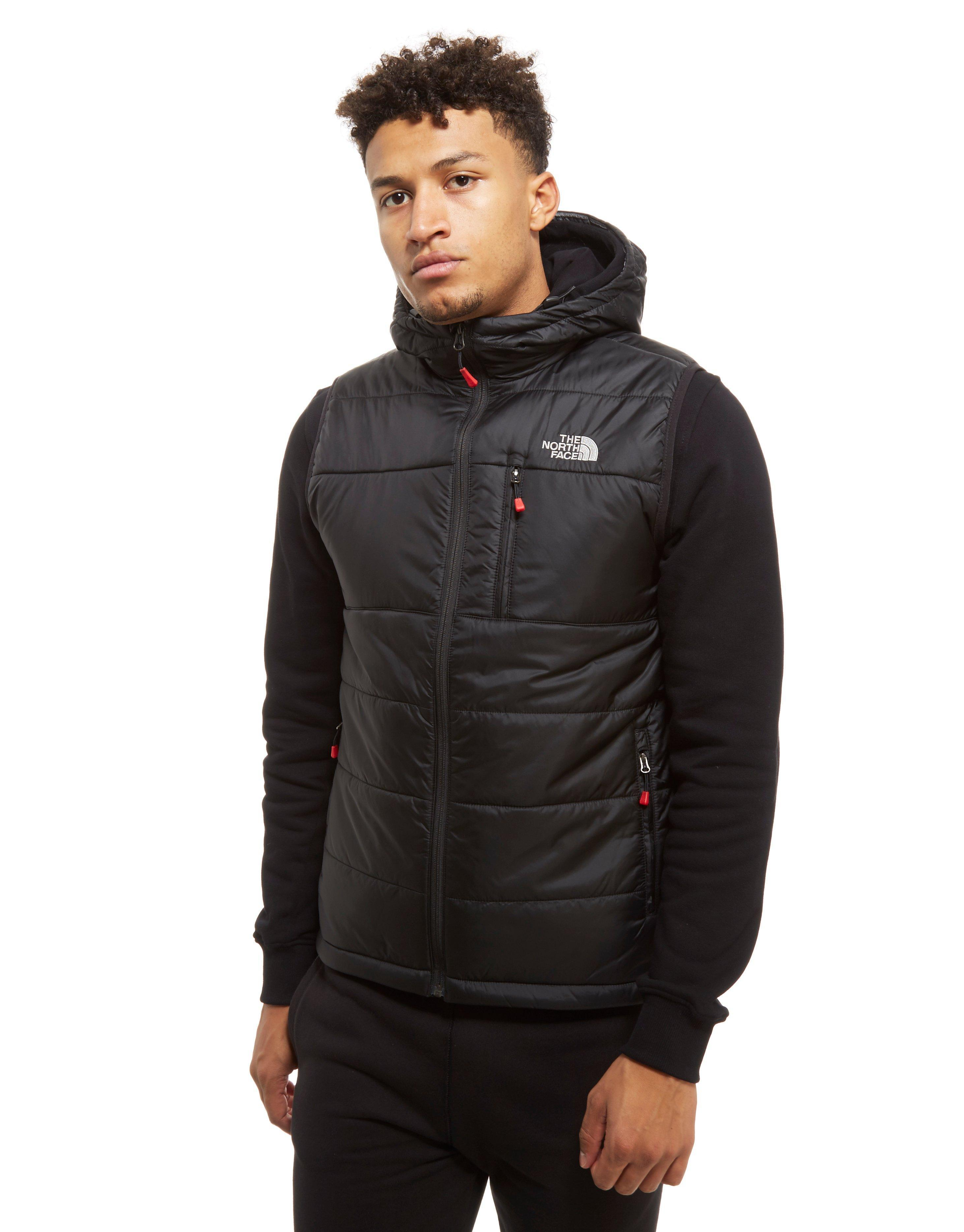 ... Jacket with JD The North Face Khotan Gilet in Black for Men - Lyst . a03377cfb