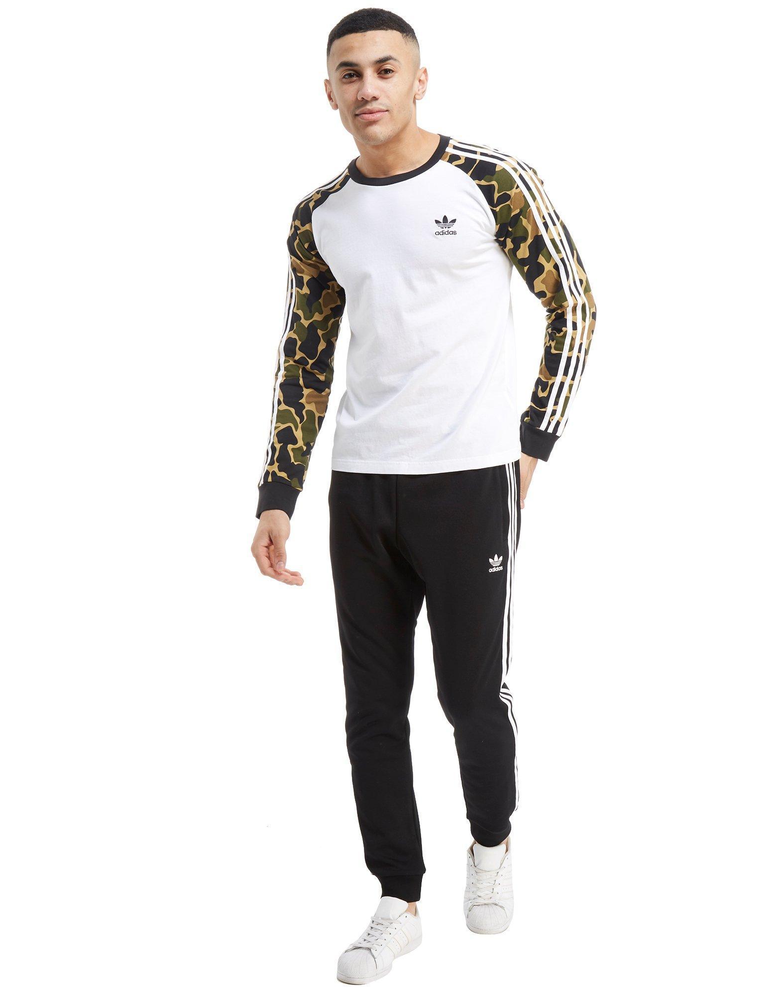 68df0df3 adidas Originals California Long Sleeve T-shirt in White for Men - Lyst