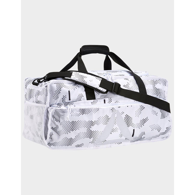 3ffb0bebfad4 Reebok Active Enhanced Grip Duffel Bag Large in White - Lyst