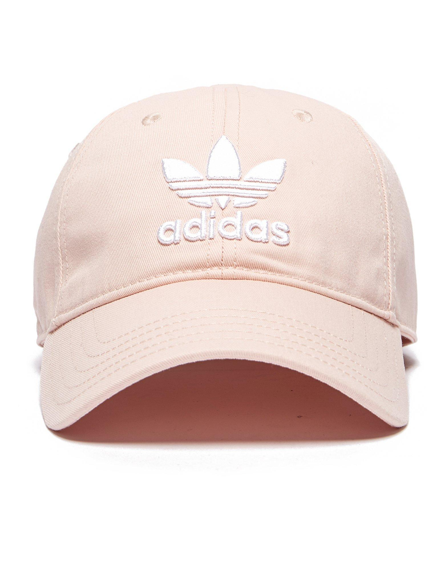 Adidas Originals Trefoil Classic Cap in Pink for Men - Lyst d1fd52fcf06