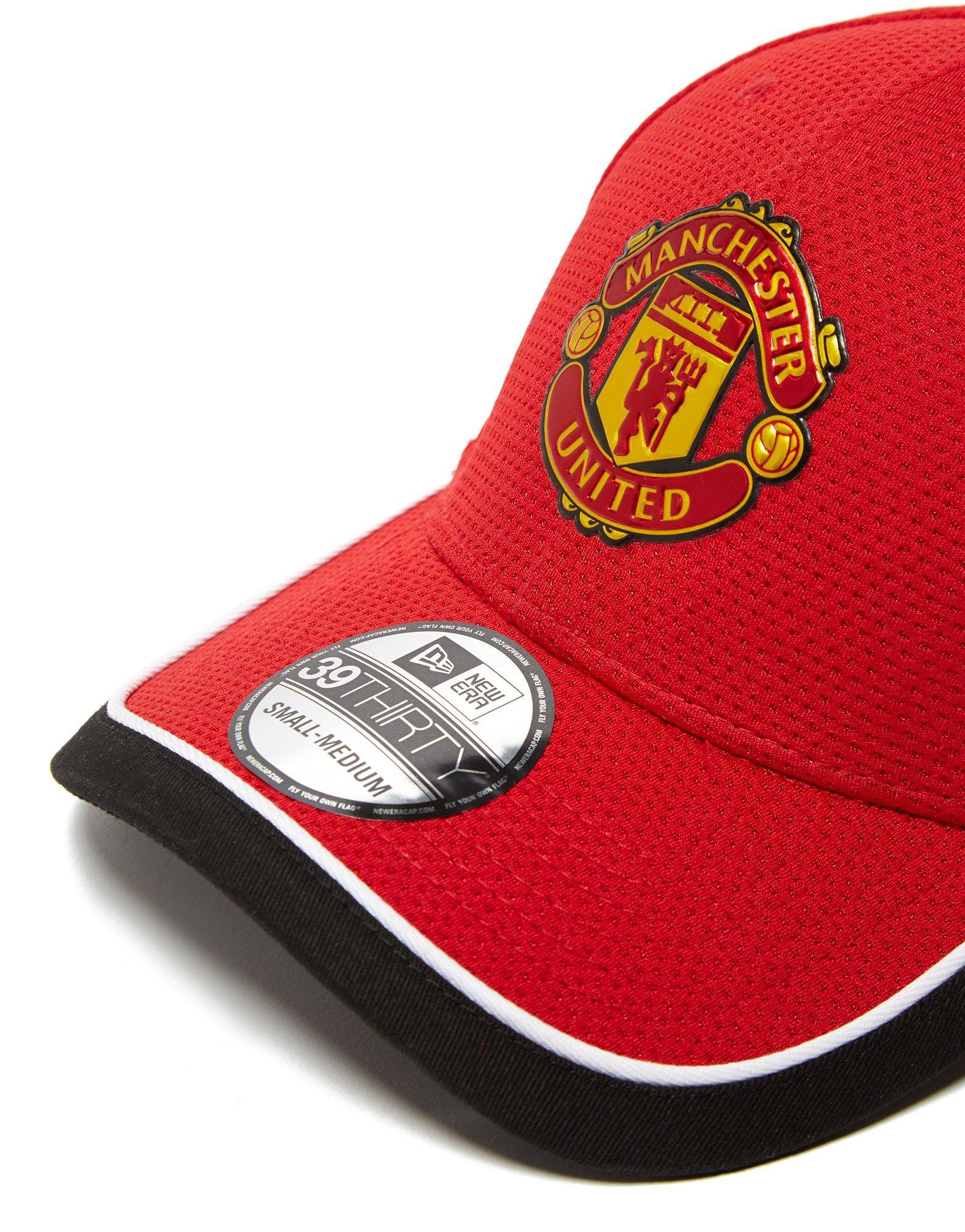 Lyst - Ktz Caddy Manchester United 39thirty Cap in Red for Men 9313b30673ea