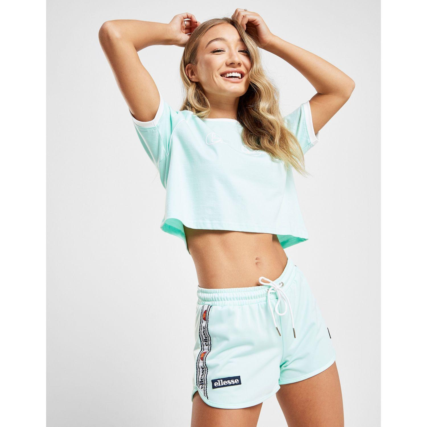 new concept 80412 ca8f2 Lyst - Ellesse Tape Poly Shorts