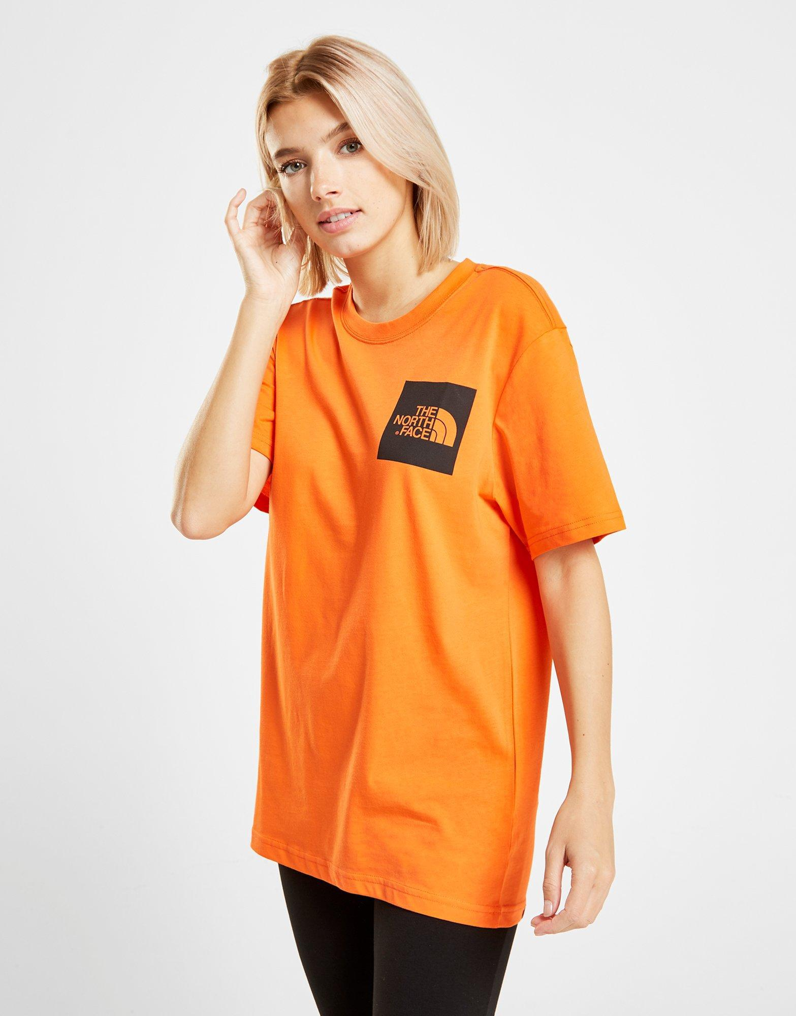 d0df98b5 Lyst - The North Face Box T-shirt in Orange - Save 28.57142857142857%
