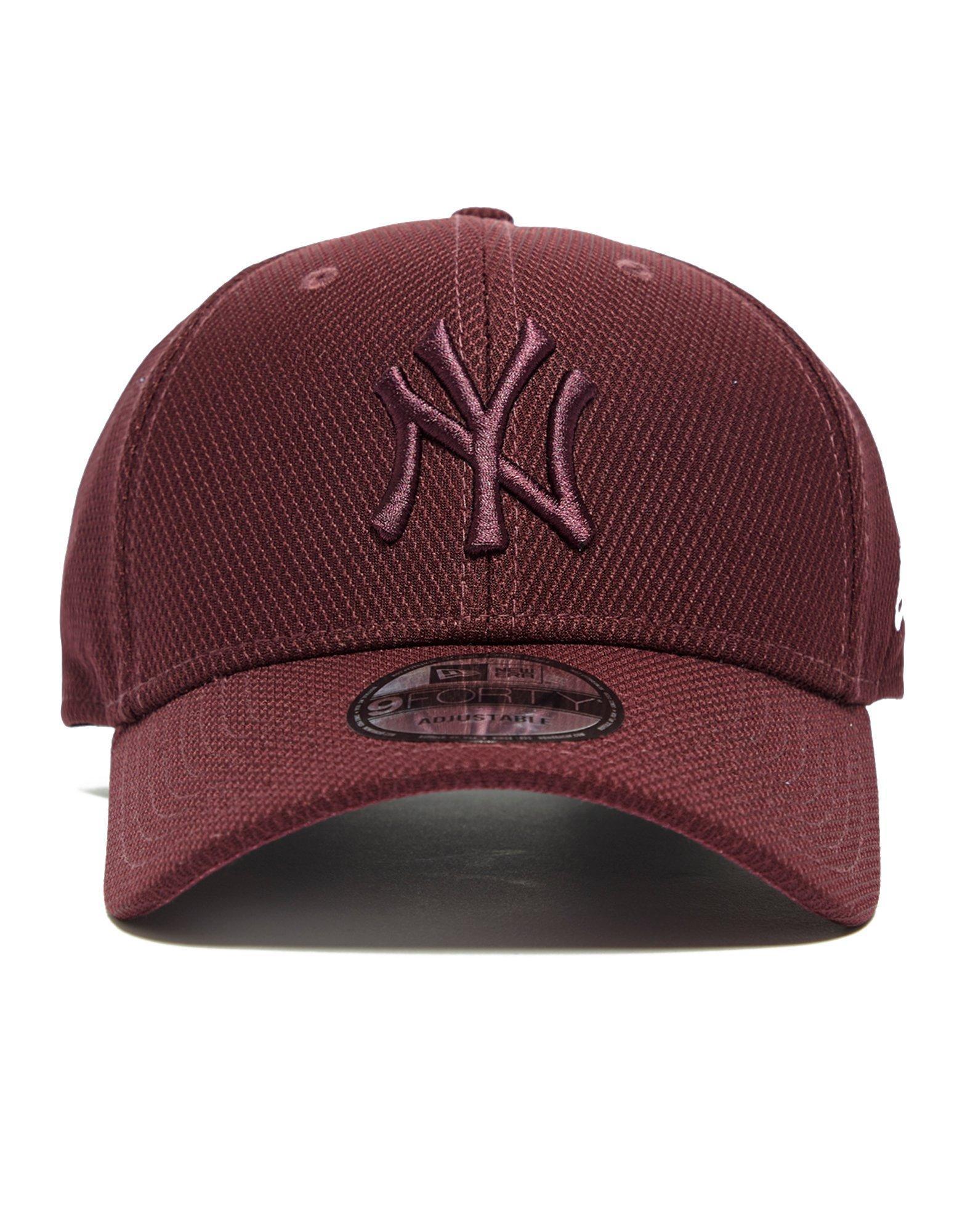 7d1c6f30908 Lyst - Ktz 9forty New York Yankees Baseball Cap in Red for Men