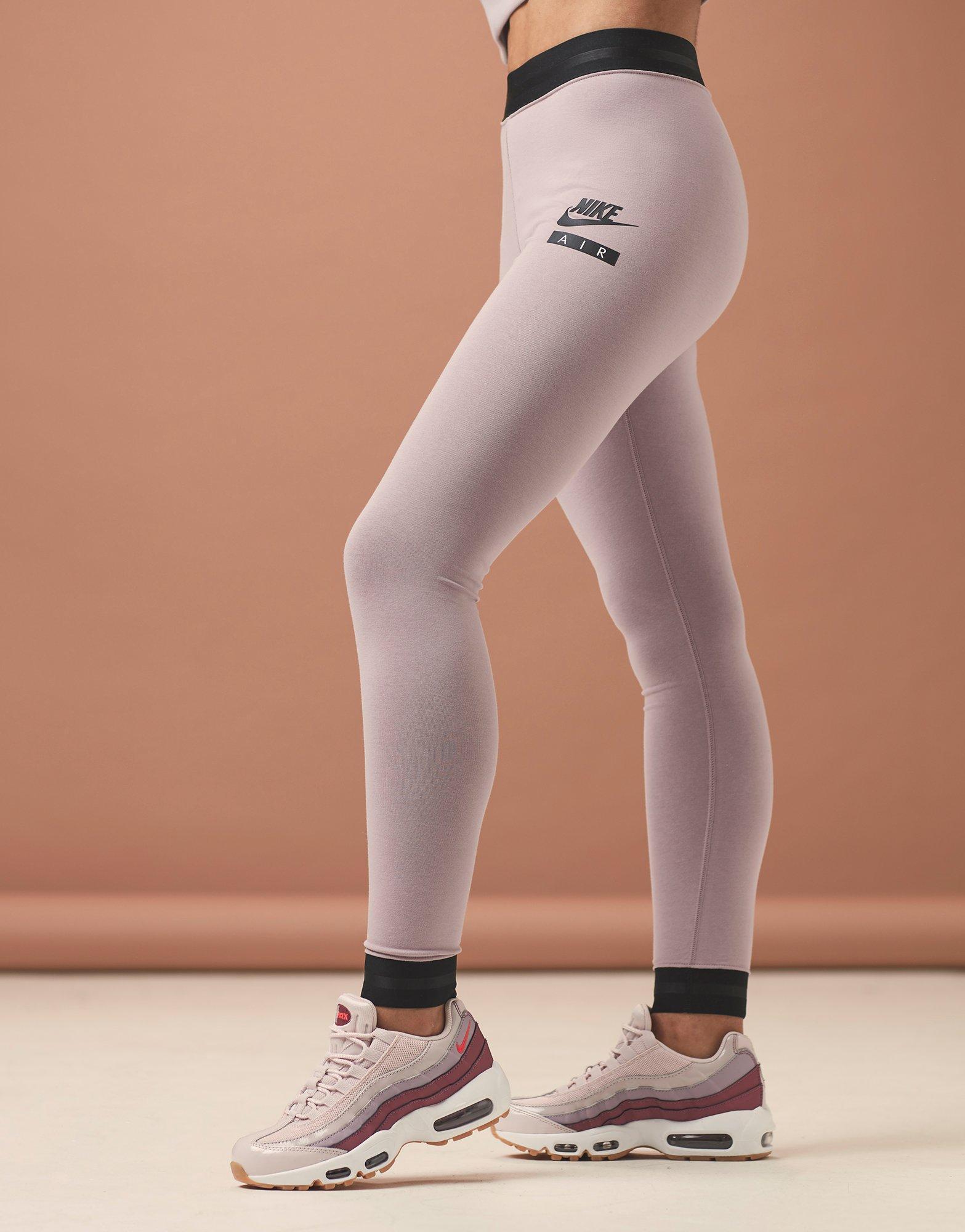 7778f02a6929b Nike Air High Waist Leggings in Pink - Lyst