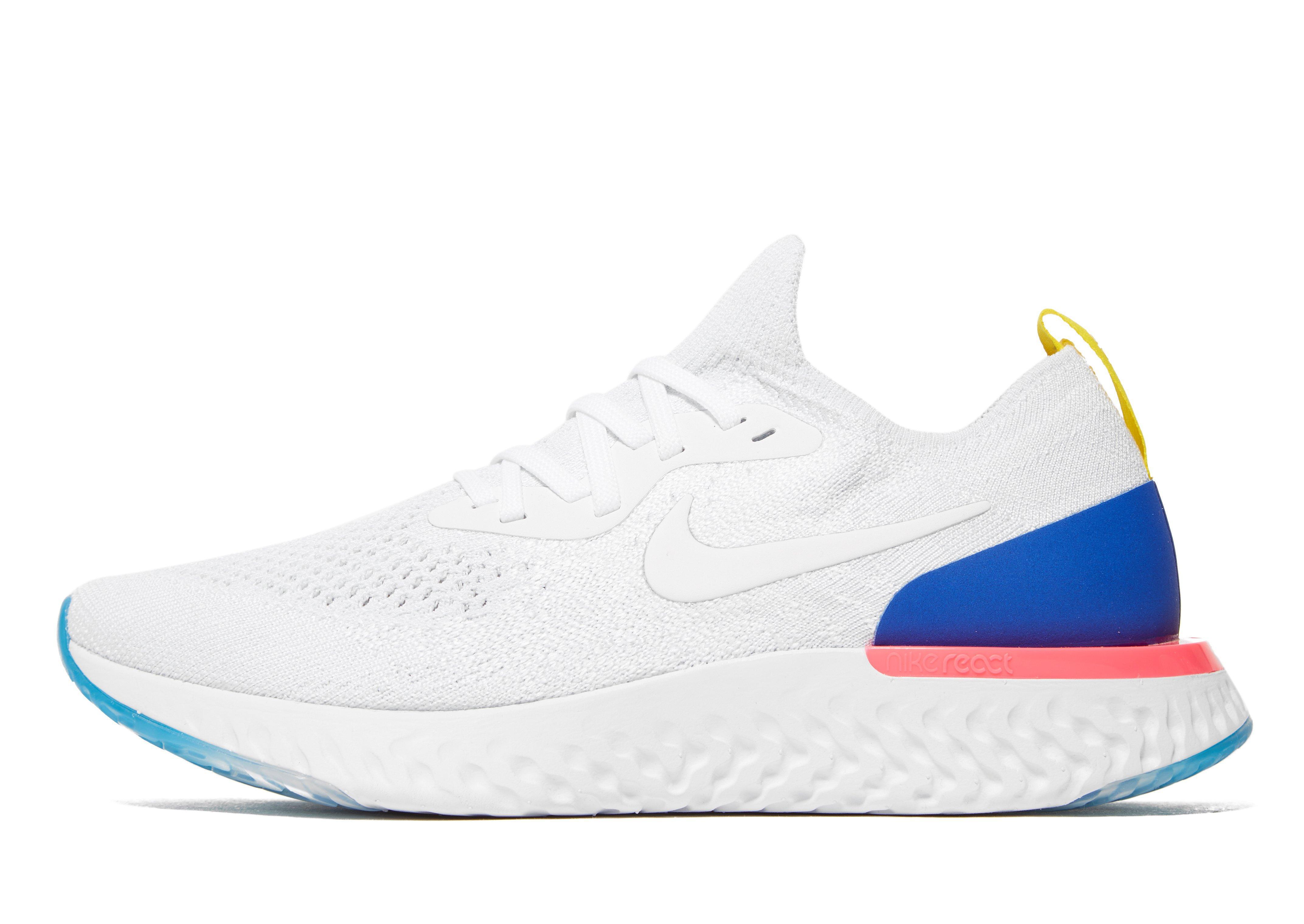 d2922ad026b3 Lyst - Nike Epic React Flyknit in Blue for Men