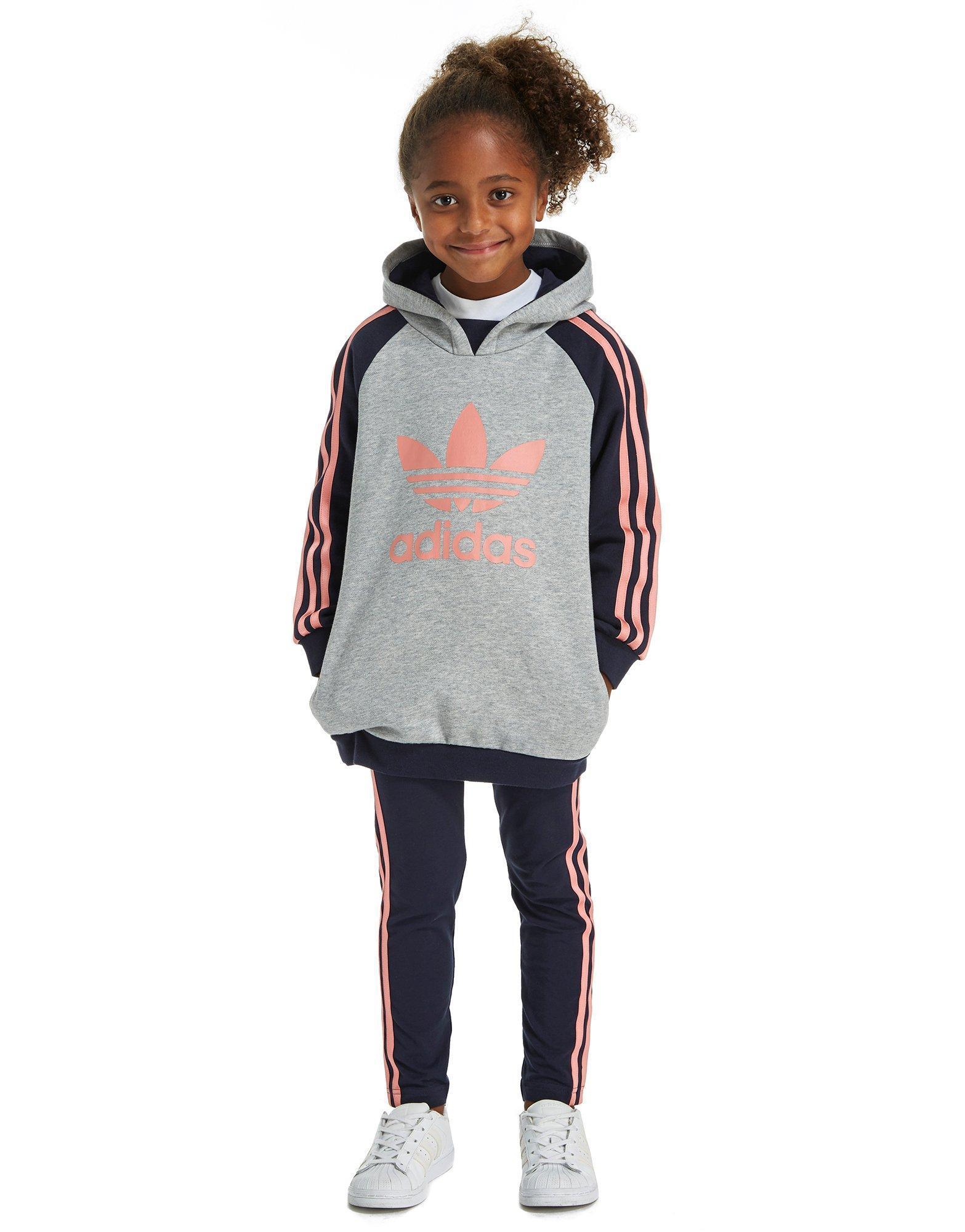 082b46e9713bf adidas Originals Girls' Hoodie & Legging Set Children in Gray - Lyst