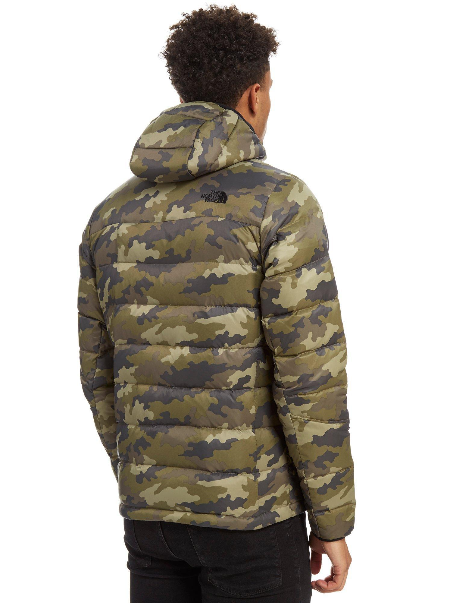 e50df4f73de7 ... ireland lyst the north face shark down padded jacket in green for 2d909  1dda3