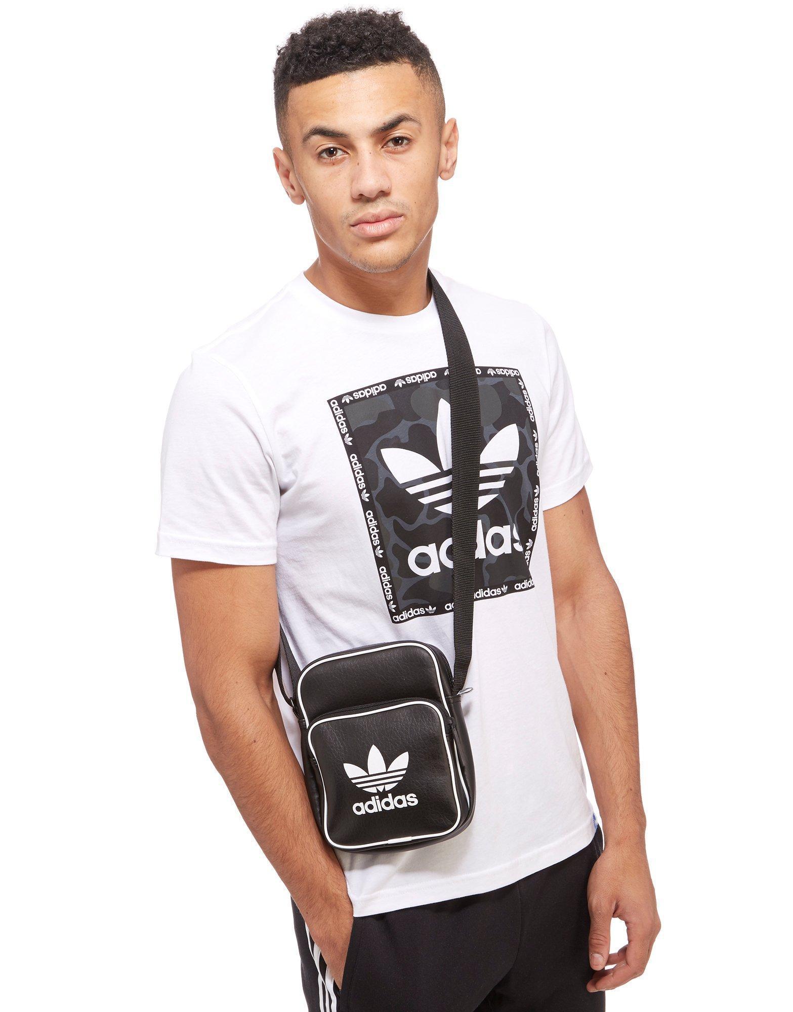 5b93014ae895 Lyst - adidas Originals Classic Mini Bag in Black